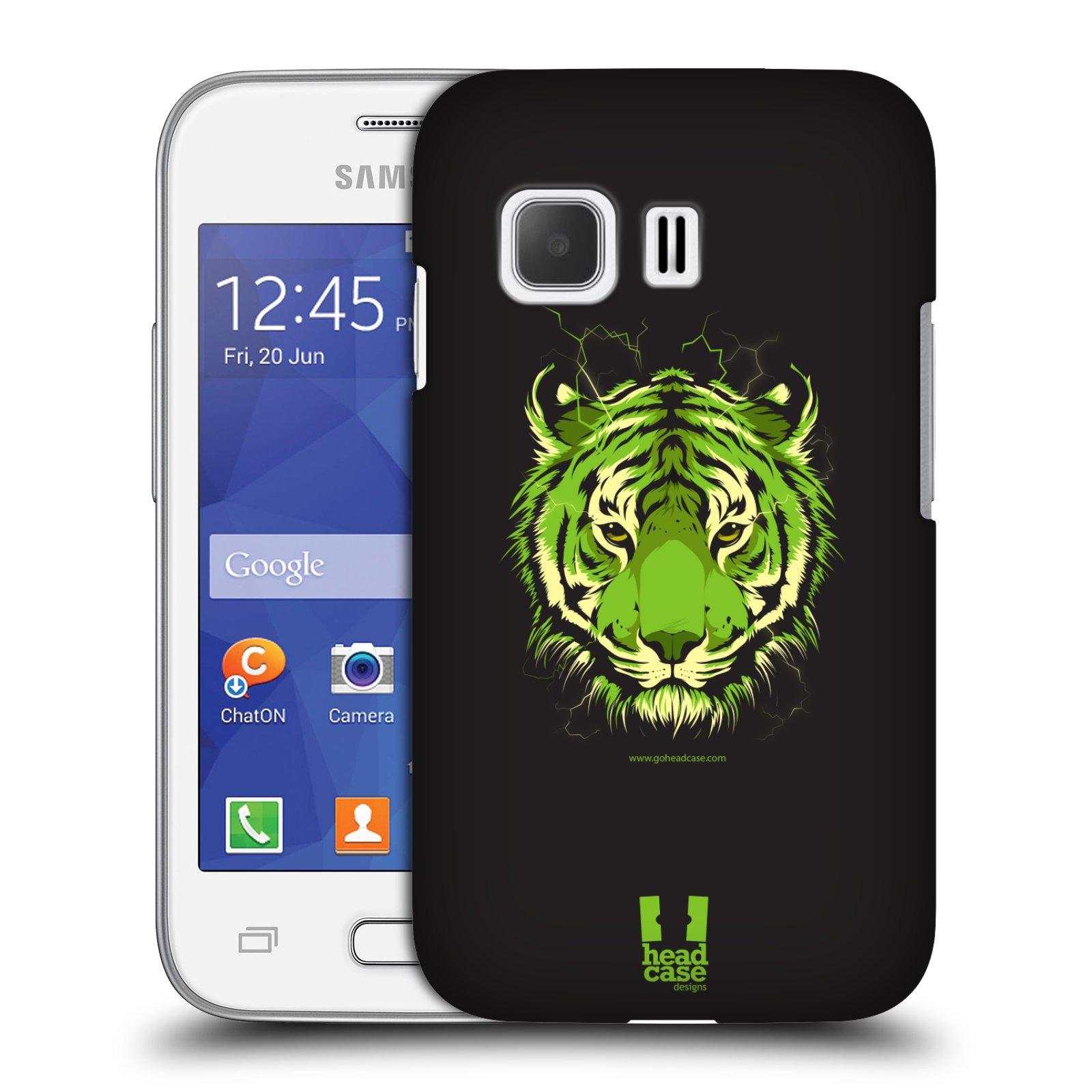 Plastové pouzdro na mobil Samsung Galaxy Young 2 HEAD CASE BENGÁLSKÝ TYGR (Kryt či obal na mobilní telefon Samsung Galaxy Young 2 SM-G130)