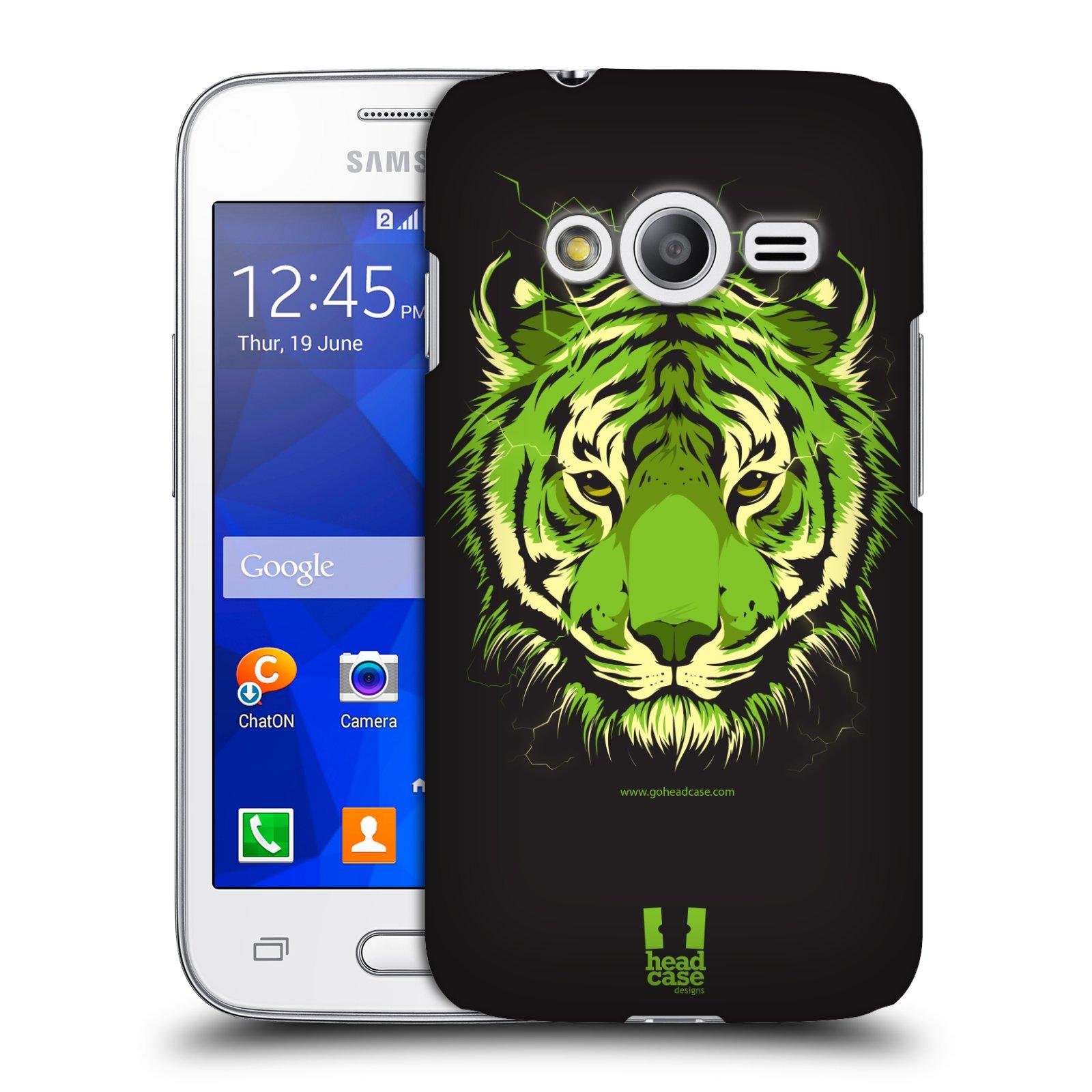 Plastové pouzdro na mobil Samsung Galaxy Trend 2 Lite HEAD CASE BENGÁLSKÝ TYGR (Kryt či obal na mobilní telefon Samsung Galaxy Trend 2 Lite SM-G318)