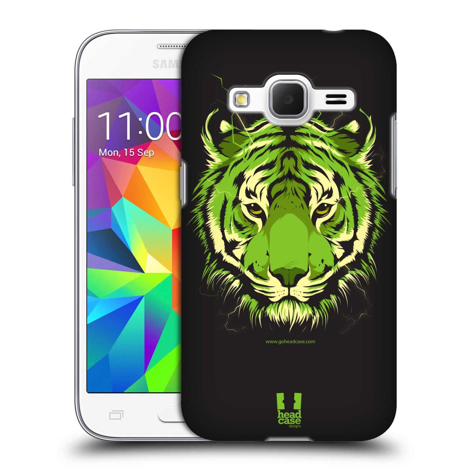 Plastové pouzdro na mobil Samsung Galaxy Core Prime VE HEAD CASE BENGÁLSKÝ TYGR (Kryt či obal na mobilní telefon Samsung Galaxy Core Prime LTE VE SM-G361F)