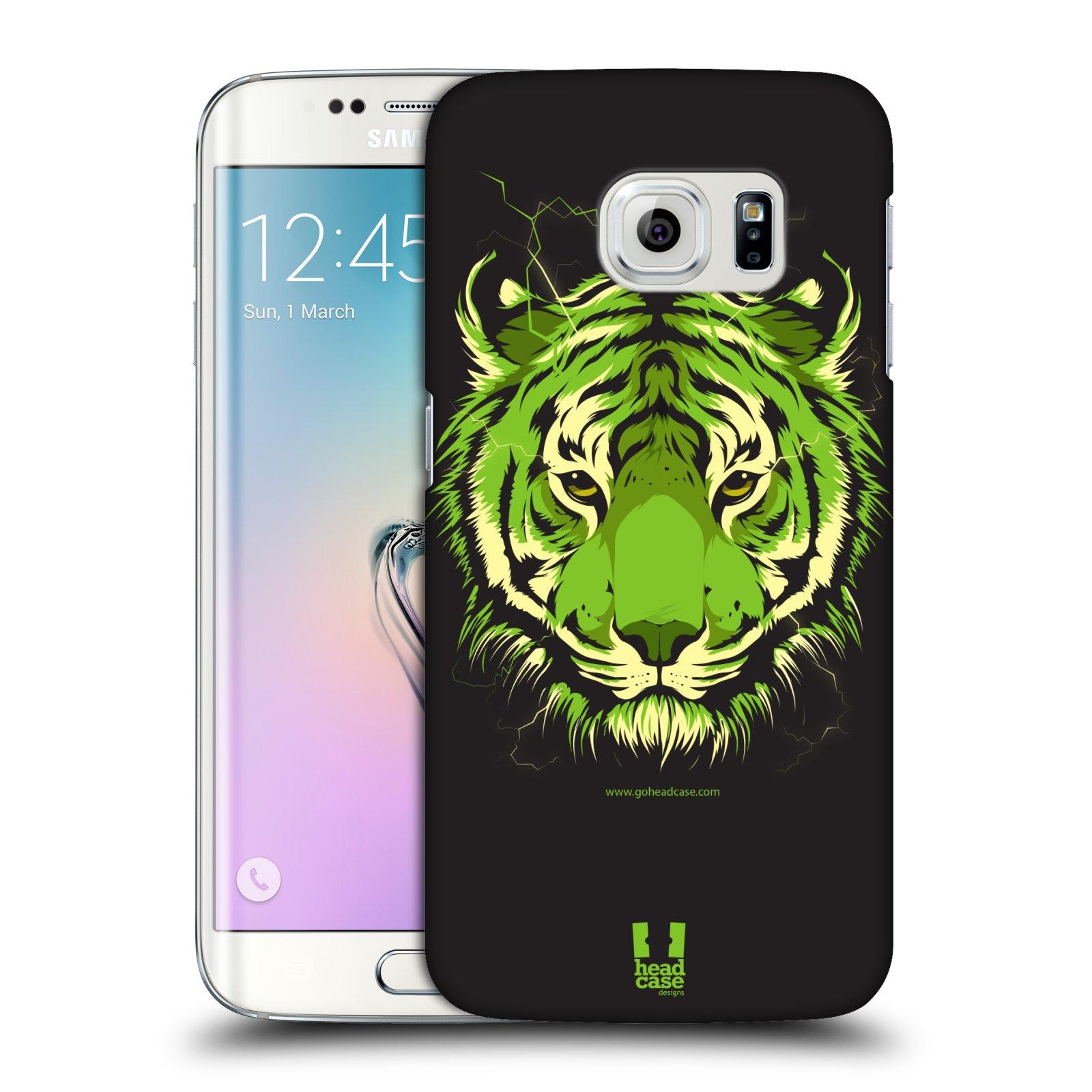 Plastové pouzdro na mobil Samsung Galaxy S6 Edge HEAD CASE BENGÁLSKÝ TYGR (Kryt či obal na mobilní telefon Samsung Galaxy S6 Edge SM-G925F)