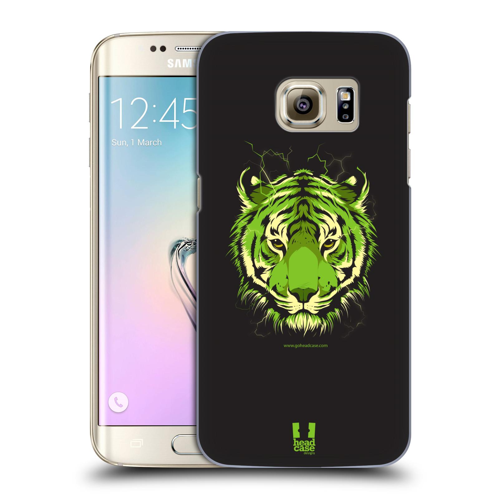 Plastové pouzdro na mobil Samsung Galaxy S7 Edge HEAD CASE BENGÁLSKÝ TYGR (Kryt či obal na mobilní telefon Samsung Galaxy S7 Edge SM-G935F)
