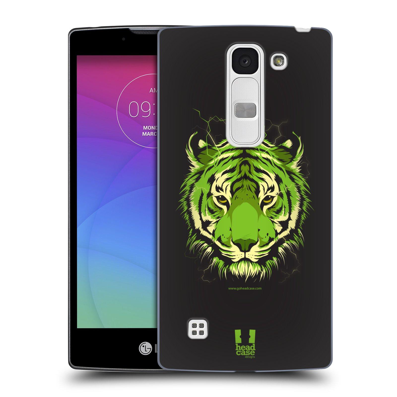 Plastové pouzdro na mobil LG Spirit LTE HEAD CASE BENGÁLSKÝ TYGR (Kryt či obal na mobilní telefon LG Spirit H420 a LG Spirit LTE H440N)