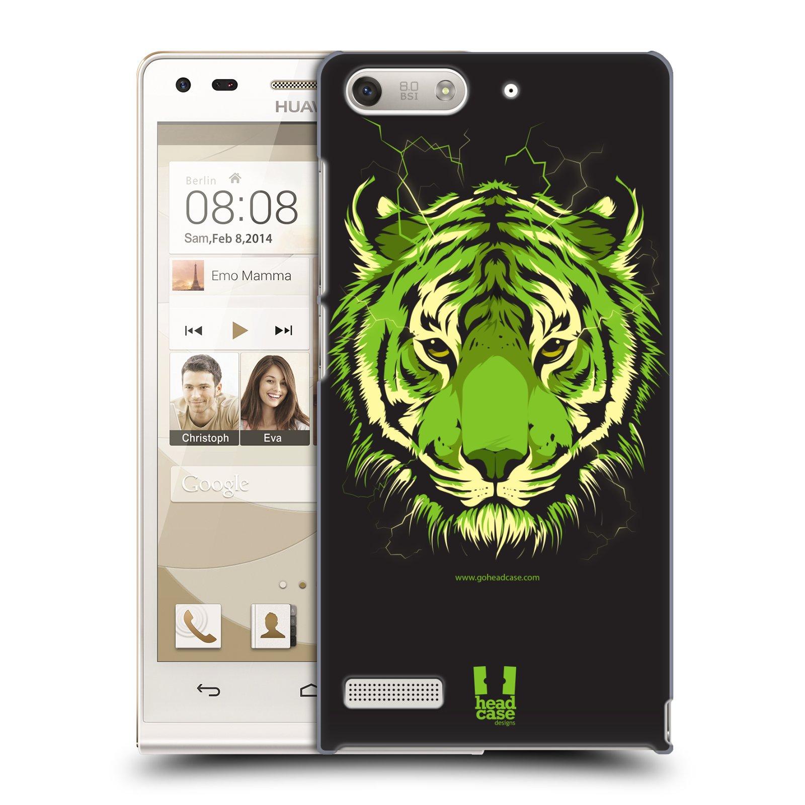 Plastové pouzdro na mobil Huawei Ascend G6 HEAD CASE BENGÁLSKÝ TYGR (Kryt či obal na mobilní telefon Huawei Ascend G6 bez LTE)