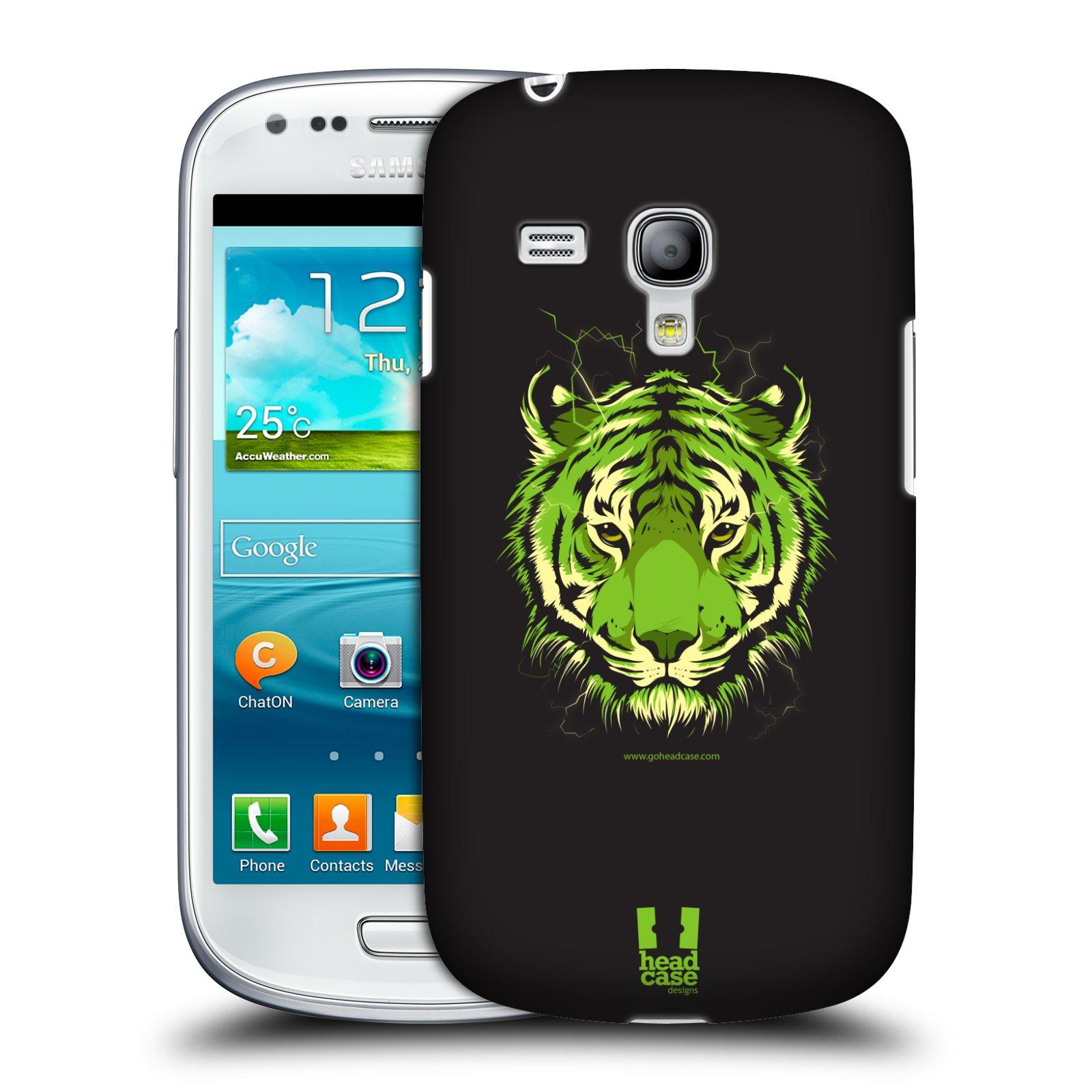 Plastové pouzdro na mobil Samsung Galaxy S III Mini HEAD CASE BENGÁLSKÝ TYGR (Kryt či obal na mobilní telefon Samsung Galaxy S III Mini GT-i8190)