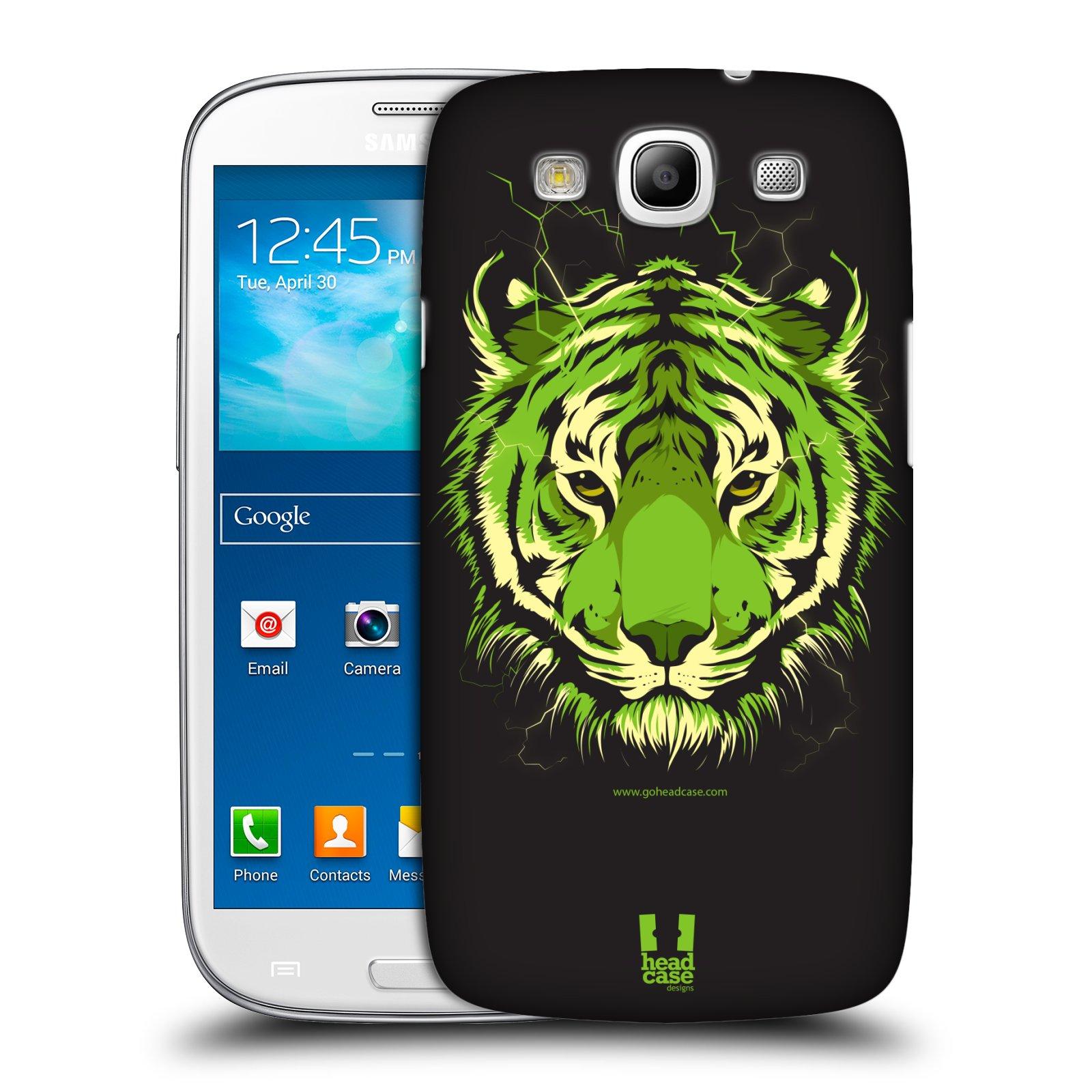 Plastové pouzdro na mobil Samsung Galaxy S3 Neo HEAD CASE BENGÁLSKÝ TYGR