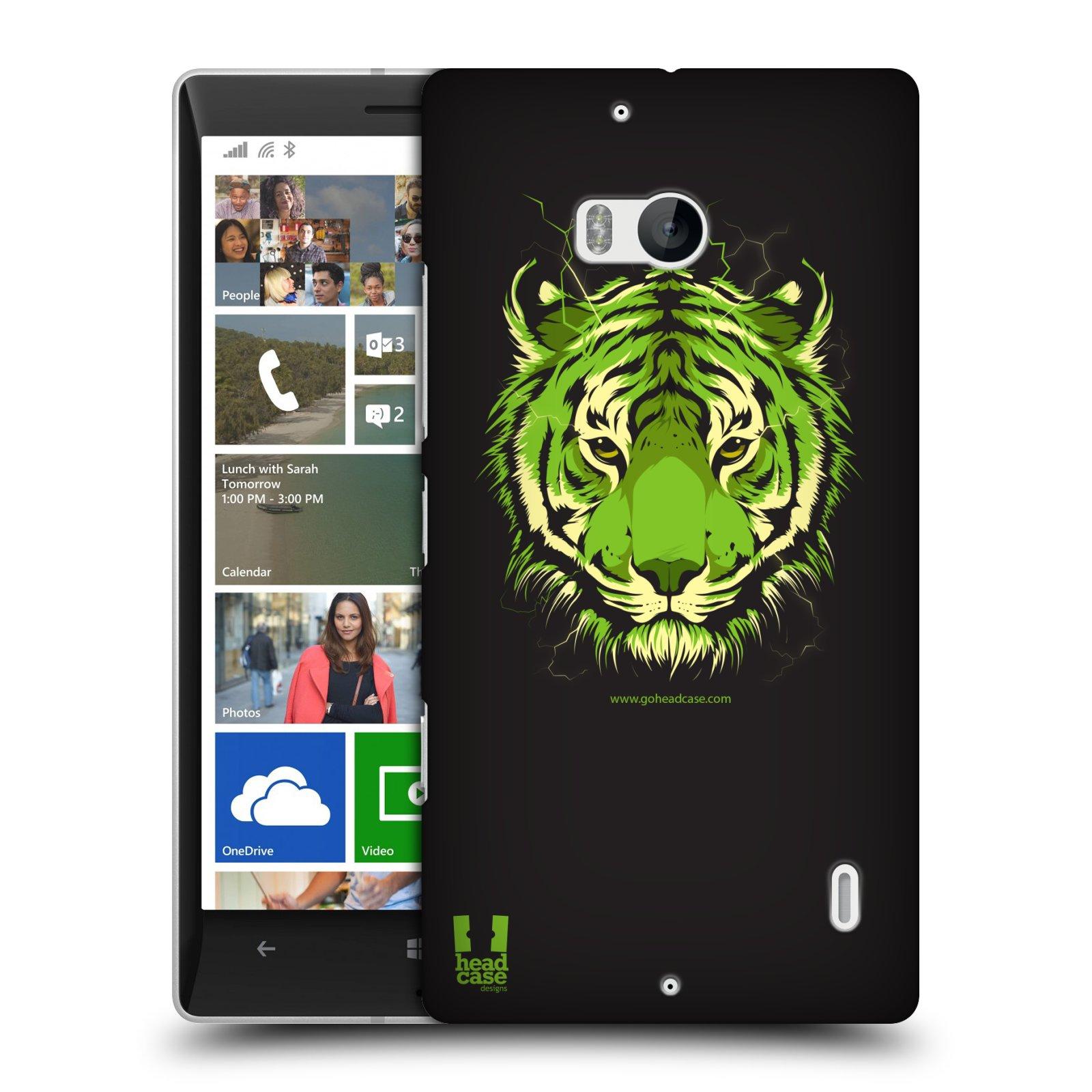 Plastové pouzdro na mobil Nokia Lumia 930 HEAD CASE BENGÁLSKÝ TYGR (Kryt či obal na mobilní telefon Nokia Lumia 930)