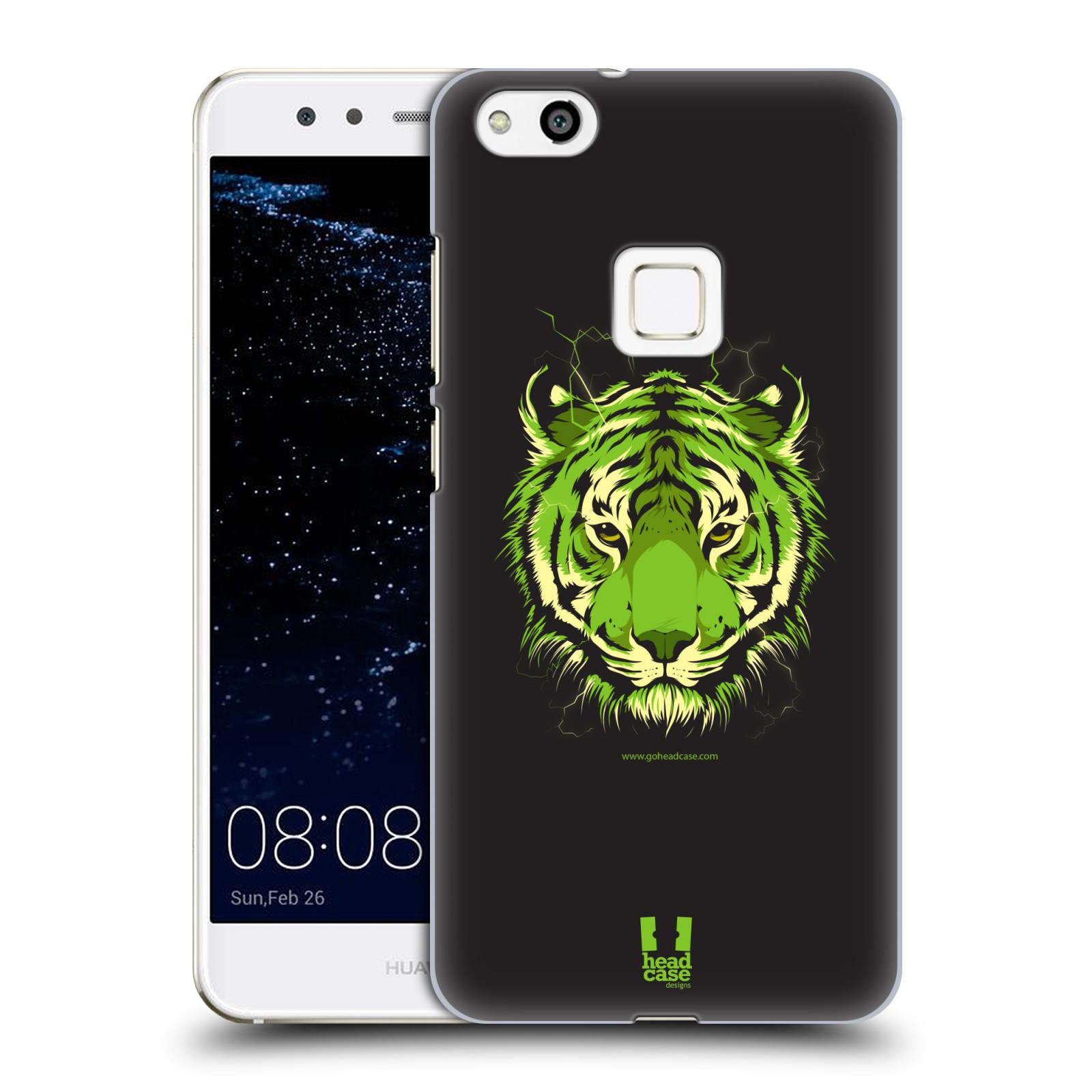Plastové pouzdro na mobil Huawei P10 Lite Head Case - BENGÁLSKÝ TYGR (Plastový kryt či obal na mobilní telefon Huawei P10 Lite Dual SIM (LX1/LX1A))