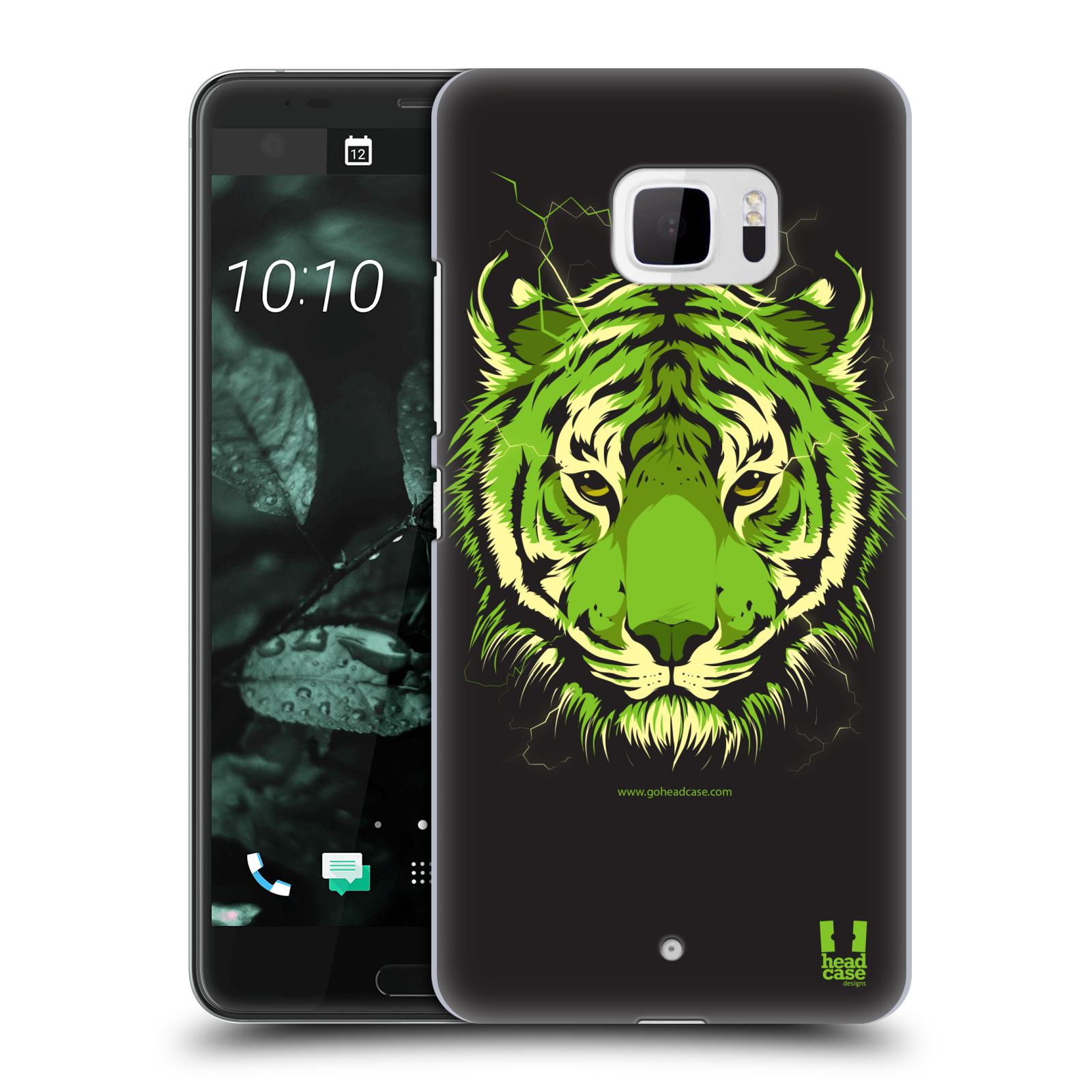 Plastové pouzdro na mobil HTC U Ultra Head Case - BENGÁLSKÝ TYGR (Plastový kryt či obal na mobilní telefon HTC U Ultra (99HALT015-00))