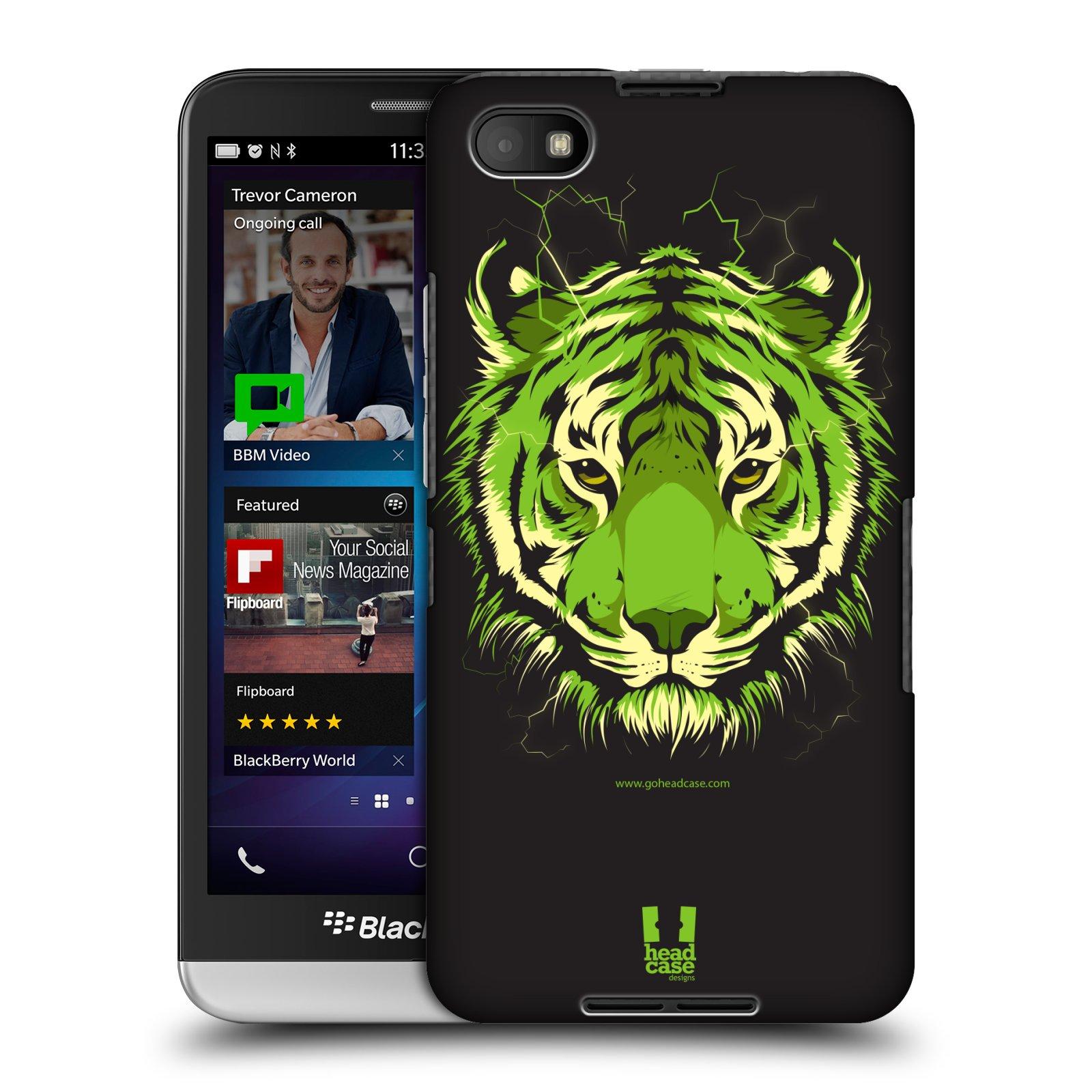 Plastové pouzdro na mobil Blackberry Z30 HEAD CASE BENGÁLSKÝ TYGR (Kryt či obal na mobilní telefon Blackberry Z30)