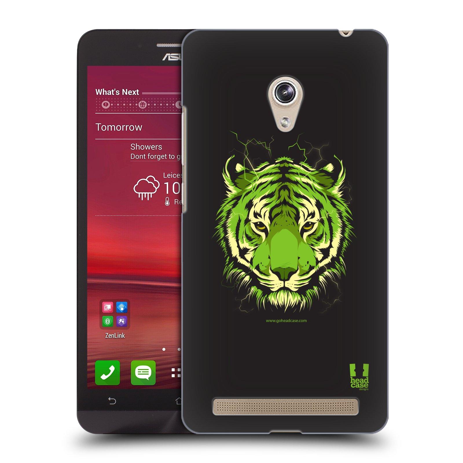 Plastové pouzdro na mobil Asus Zenfone 6 HEAD CASE BENGÁLSKÝ TYGR (Kryt či obal na mobilní telefon Asus Zenfone 6 A600CG / A601CG)