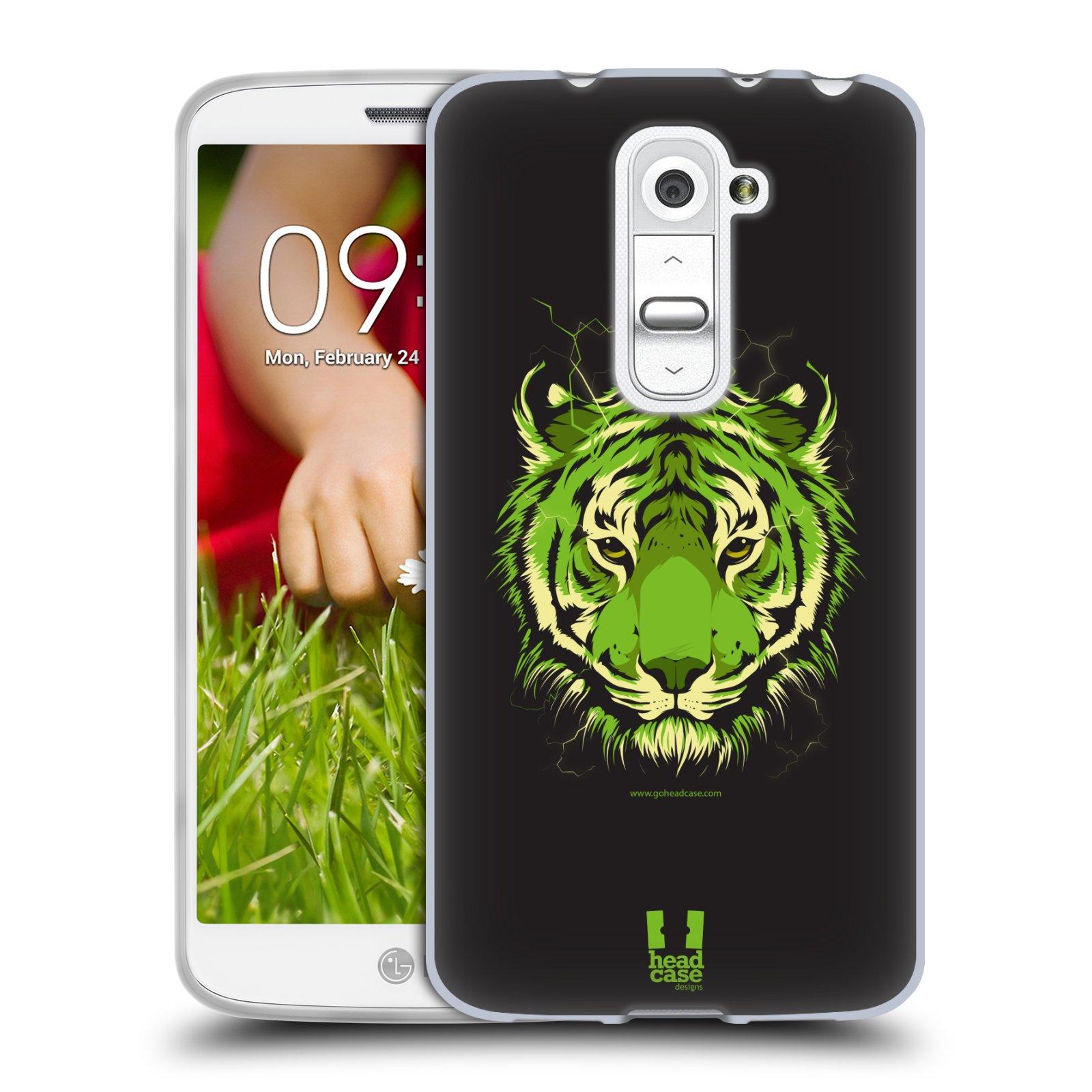 Silikonové pouzdro na mobil LG G2 Mini HEAD CASE BENGÁLSKÝ TYGR (Silikonový kryt či obal na mobilní telefon LG G2 Mini D620)