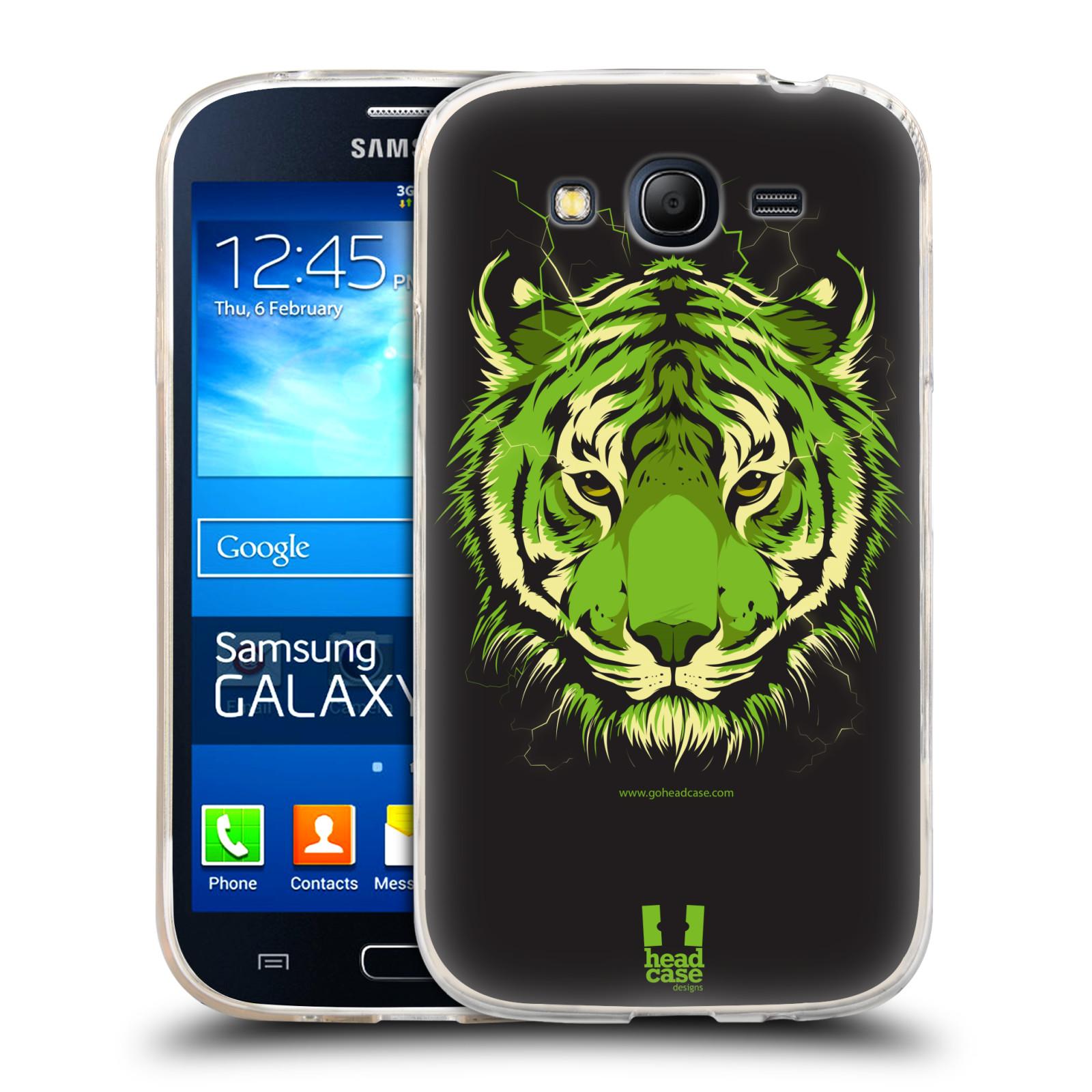 Silikonové pouzdro na mobil Samsung Galaxy Grand Neo HEAD CASE BENGÁLSKÝ TYGR (Silikonový kryt či obal na mobilní telefon Samsung Galaxy Grand Neo GT-I9060)