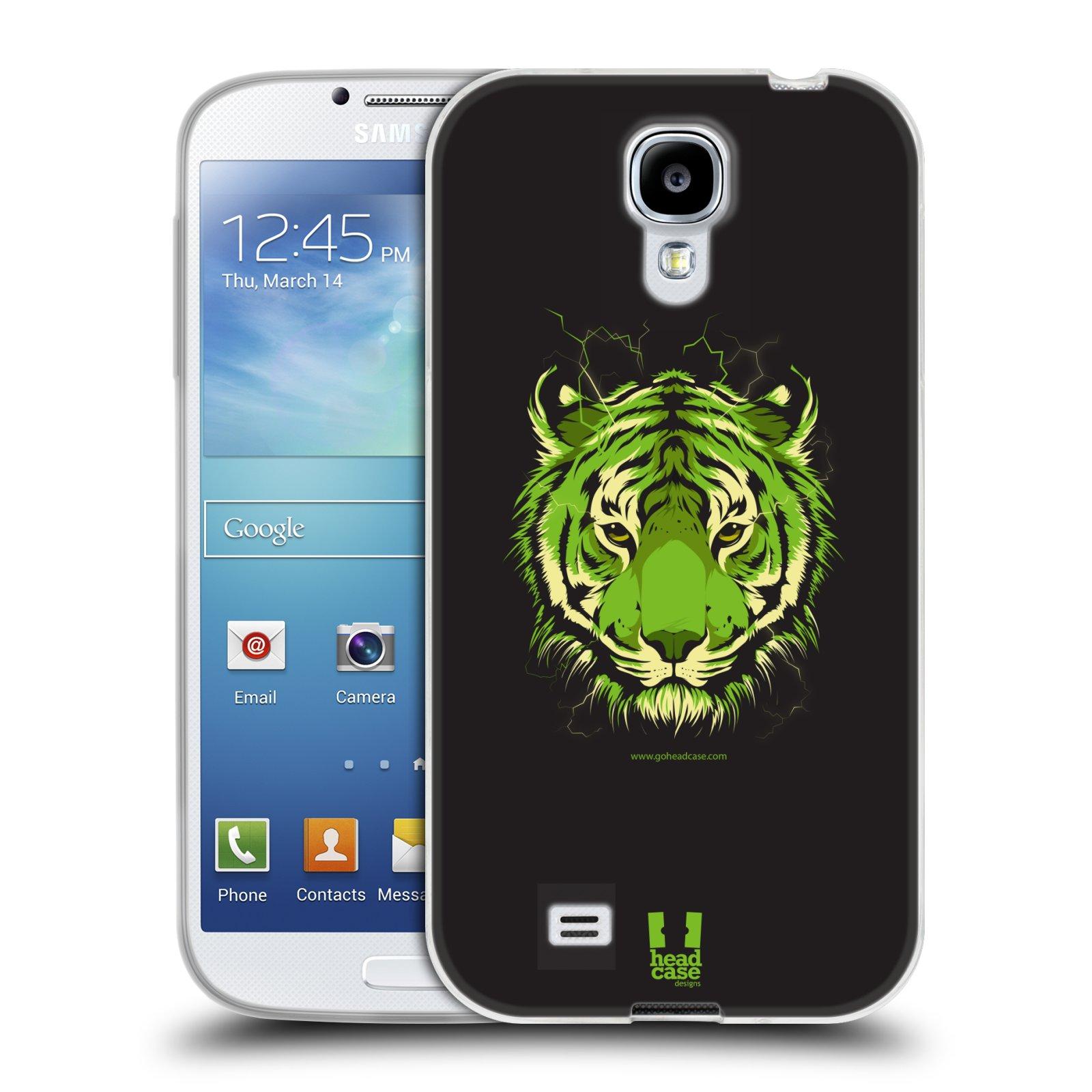 Silikonové pouzdro na mobil Samsung Galaxy S4 HEAD CASE BENGÁLSKÝ TYGR (Silikonový kryt či obal na mobilní telefon Samsung Galaxy S4 GT-i9505 / i9500)