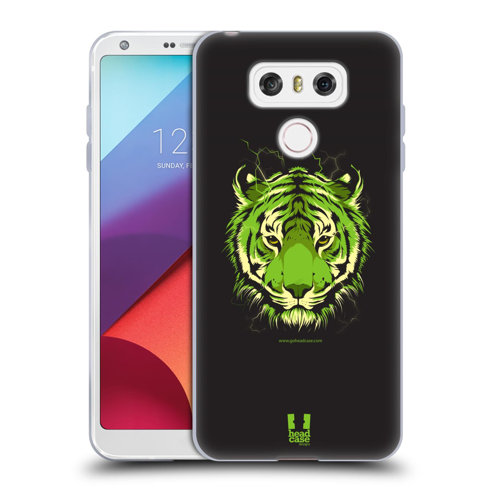 Silikonové pouzdro na mobil LG G6 - Head Case BENGÁLSKÝ TYGR (Silikonový kryt či obal na mobilní telefon LG G6 H870 / LG G6 Dual SIM H870DS)