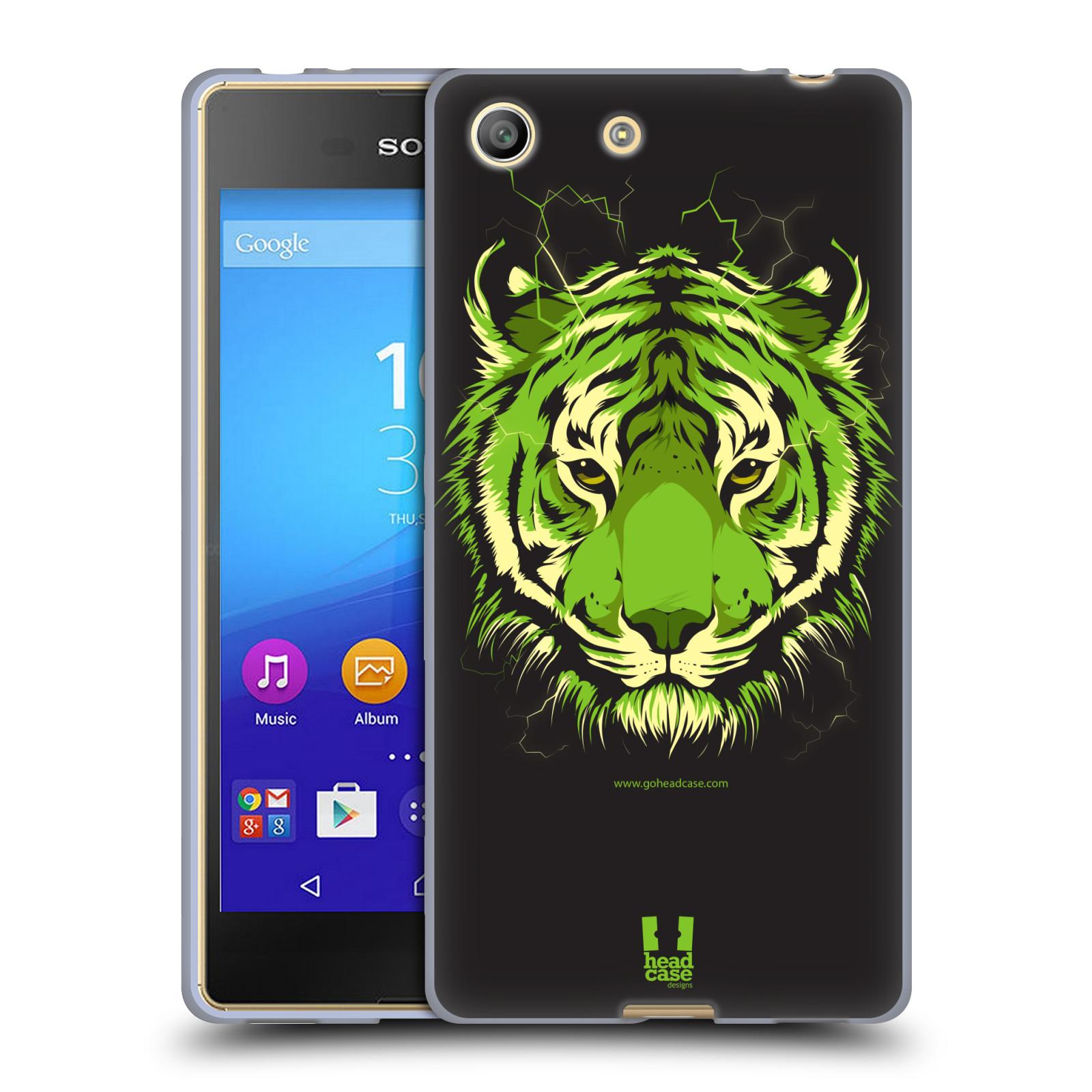 Silikonové pouzdro na mobil Sony Xperia M5 HEAD CASE BENGÁLSKÝ TYGR (Silikonový kryt či obal na mobilní telefon Sony Xperia M5 Dual SIM / Aqua)