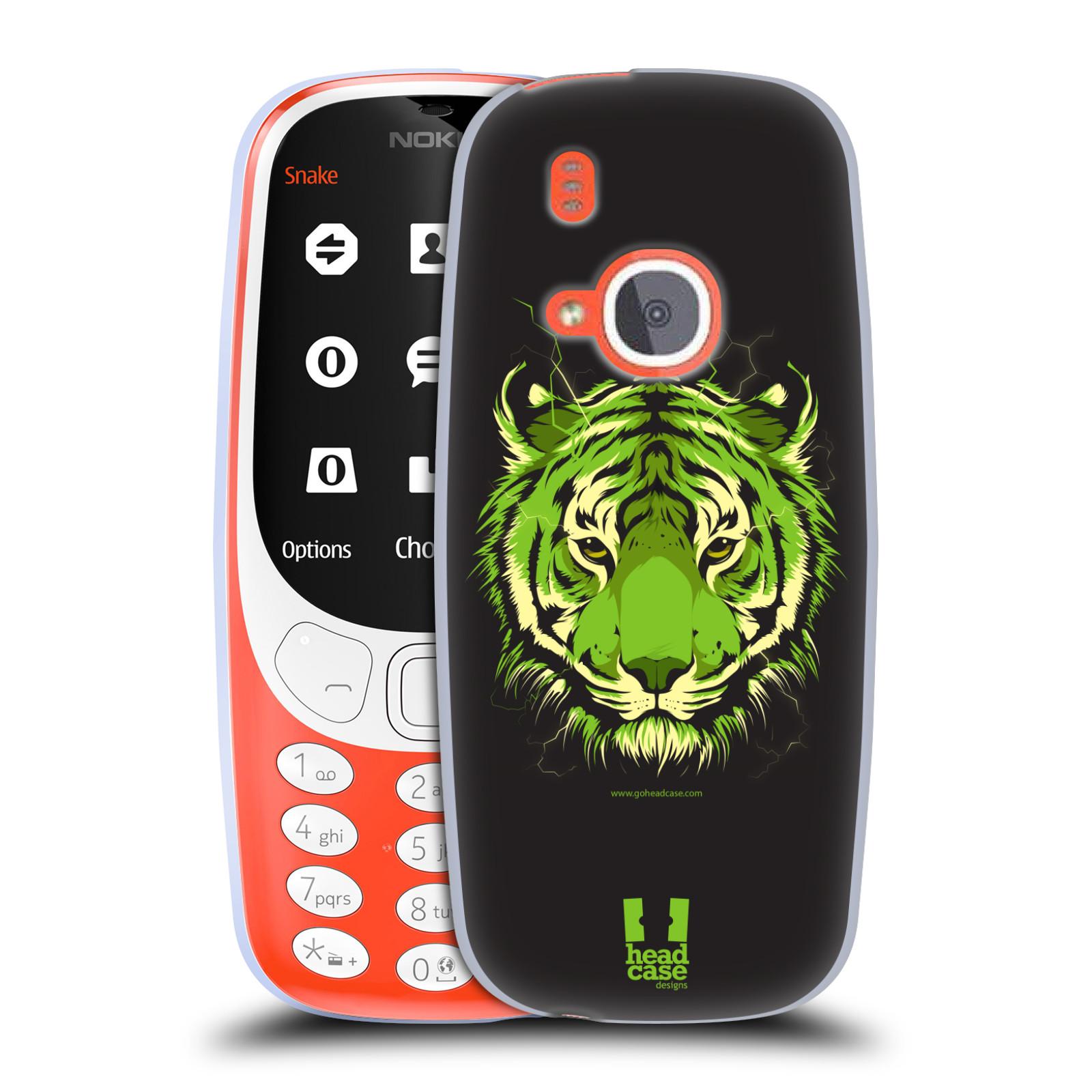 Silikonové pouzdro na mobil Nokia 3310 - Head Case - BENGÁLSKÝ TYGR (Silikonový kryt či obal na mobilní telefon Nokia 3310 (2017) s motivem BENGÁLSKÝ TYGR)