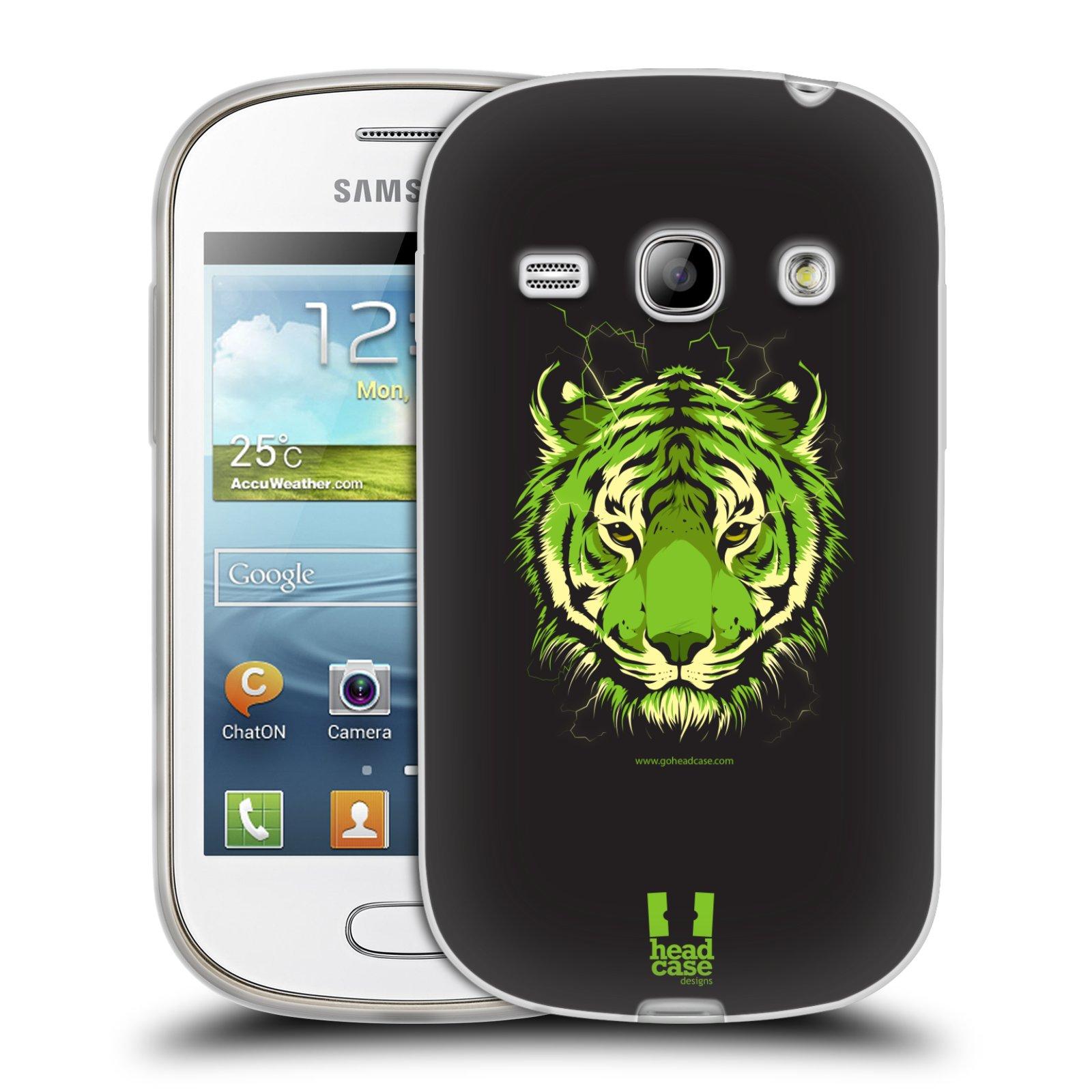Silikonové pouzdro na mobil Samsung Galaxy Fame HEAD CASE BENGÁLSKÝ TYGR (Silikonový kryt či obal na mobilní telefon Samsung Galaxy Fame GT-S6810)