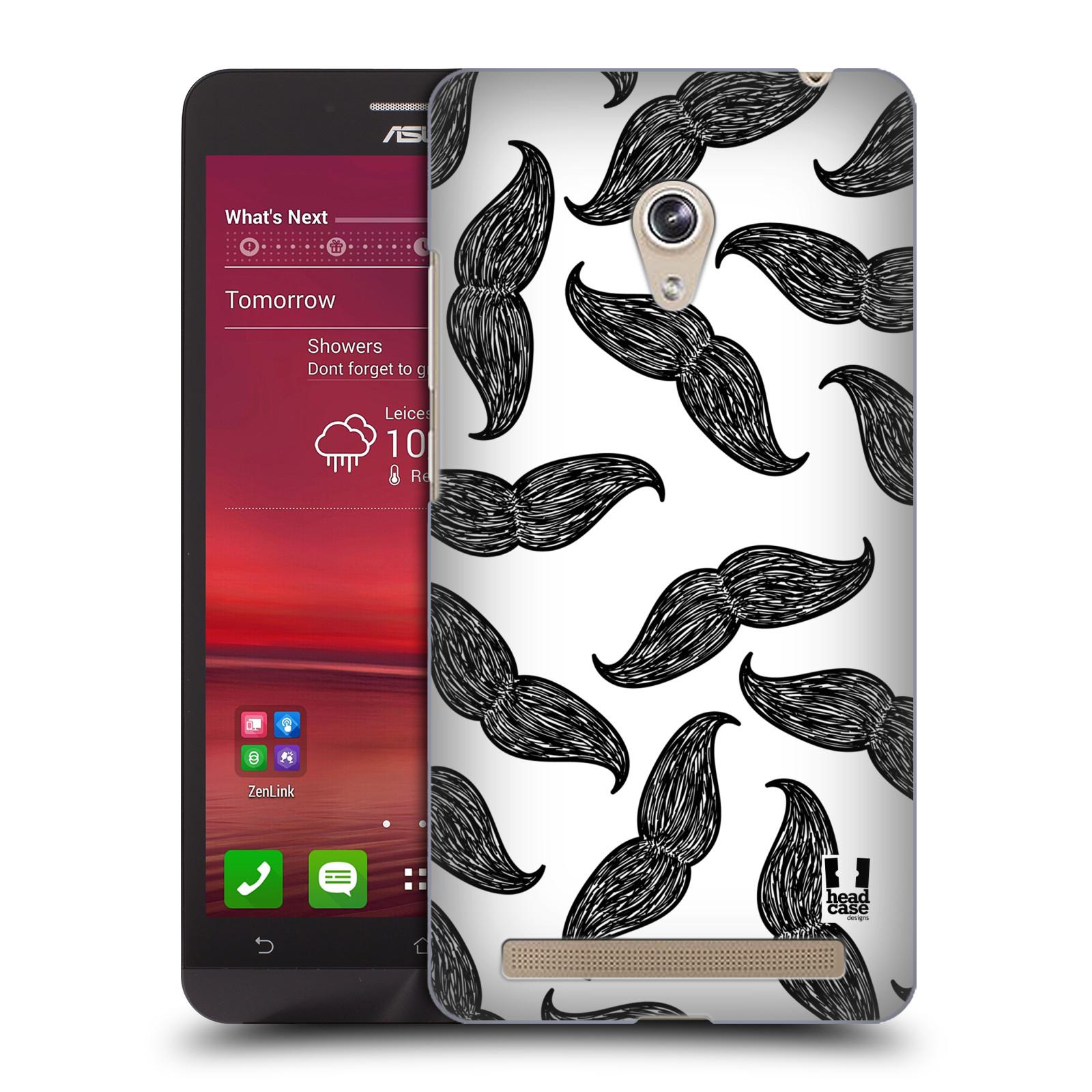 Plastové pouzdro na mobil Asus Zenfone 6 HEAD CASE HIPSTER KNÍRY (Kryt či obal na mobilní telefon Asus Zenfone 6 A600CG / A601CG)