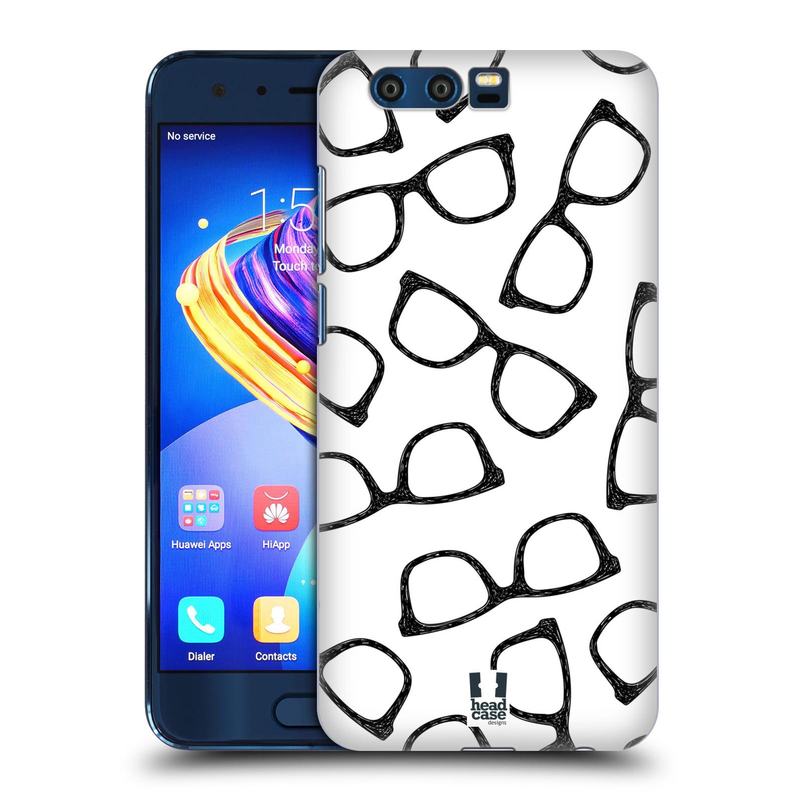 Plastové pouzdro na mobil Honor 9 - Head Case - HIPSTER BRÝLE empty 30dde9c7eb6