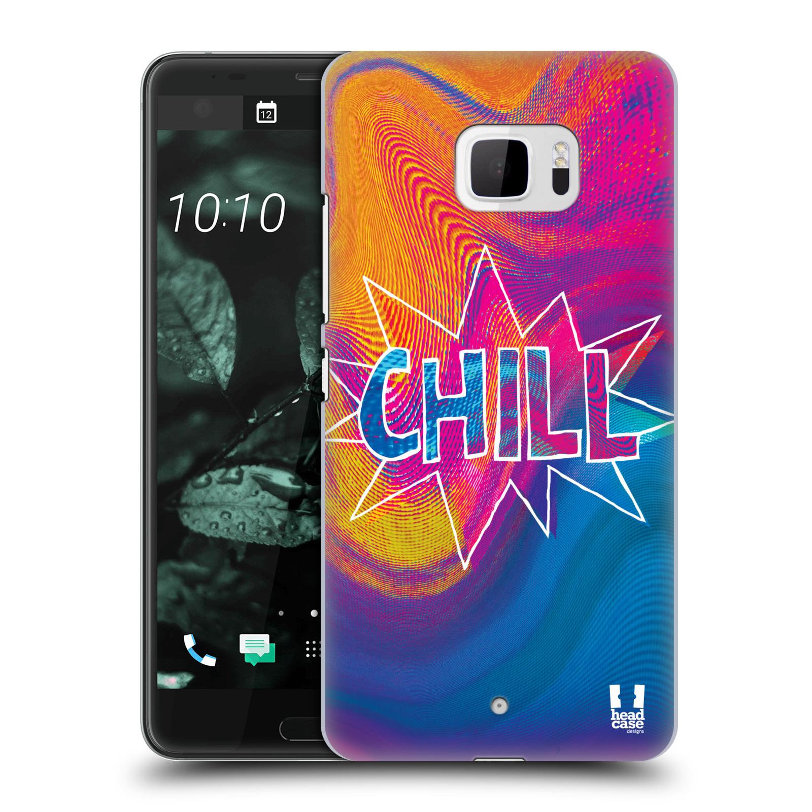 Plastové pouzdro na mobil HTC U Ultra Head Case - HOLOGRAF CHILL (Plastový kryt či obal na mobilní telefon HTC U Ultra (99HALT015-00))