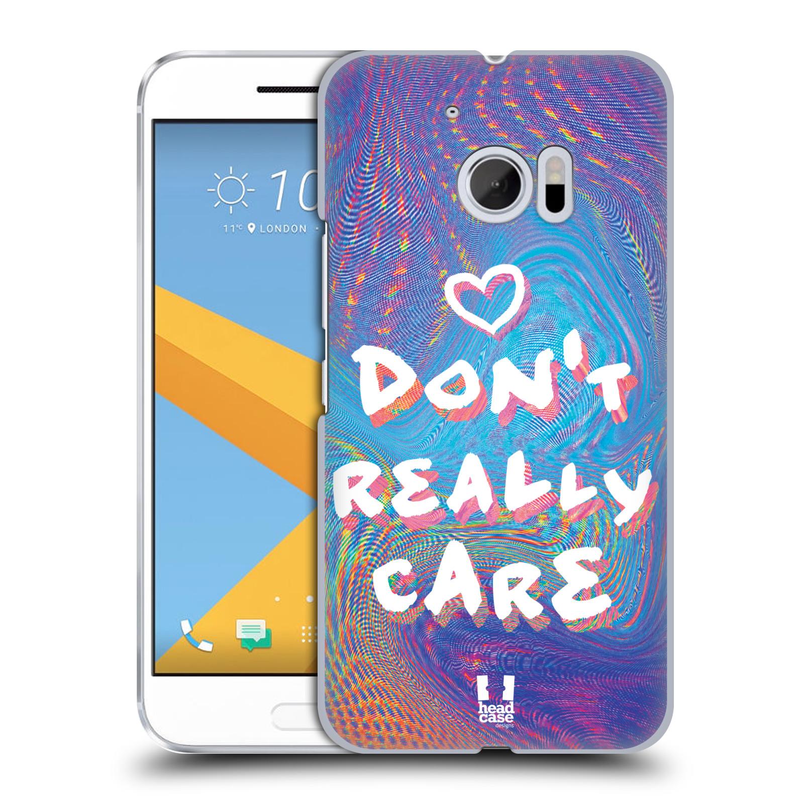 Plastové pouzdro na mobil HTC One 10 - Head Case - HOLOGRAF DON'T CARE (Plastový kryt či obal na mobilní telefon HTC One 10 (M10))