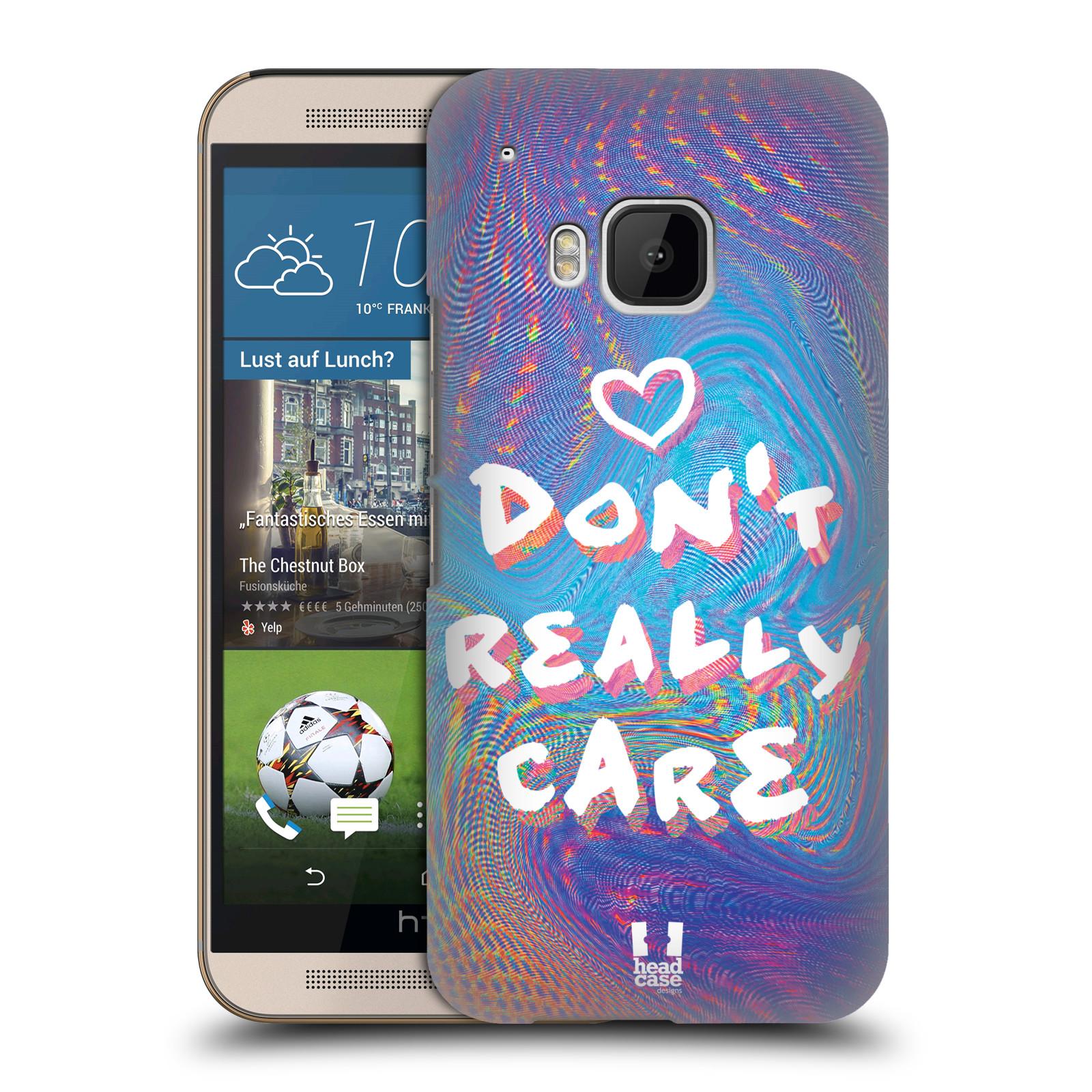 Plastové pouzdro na mobil HTC ONE M9 HEAD CASE HOLOGRAF DON'T CARE (Kryt či obal na mobilní telefon HTC ONE M9)