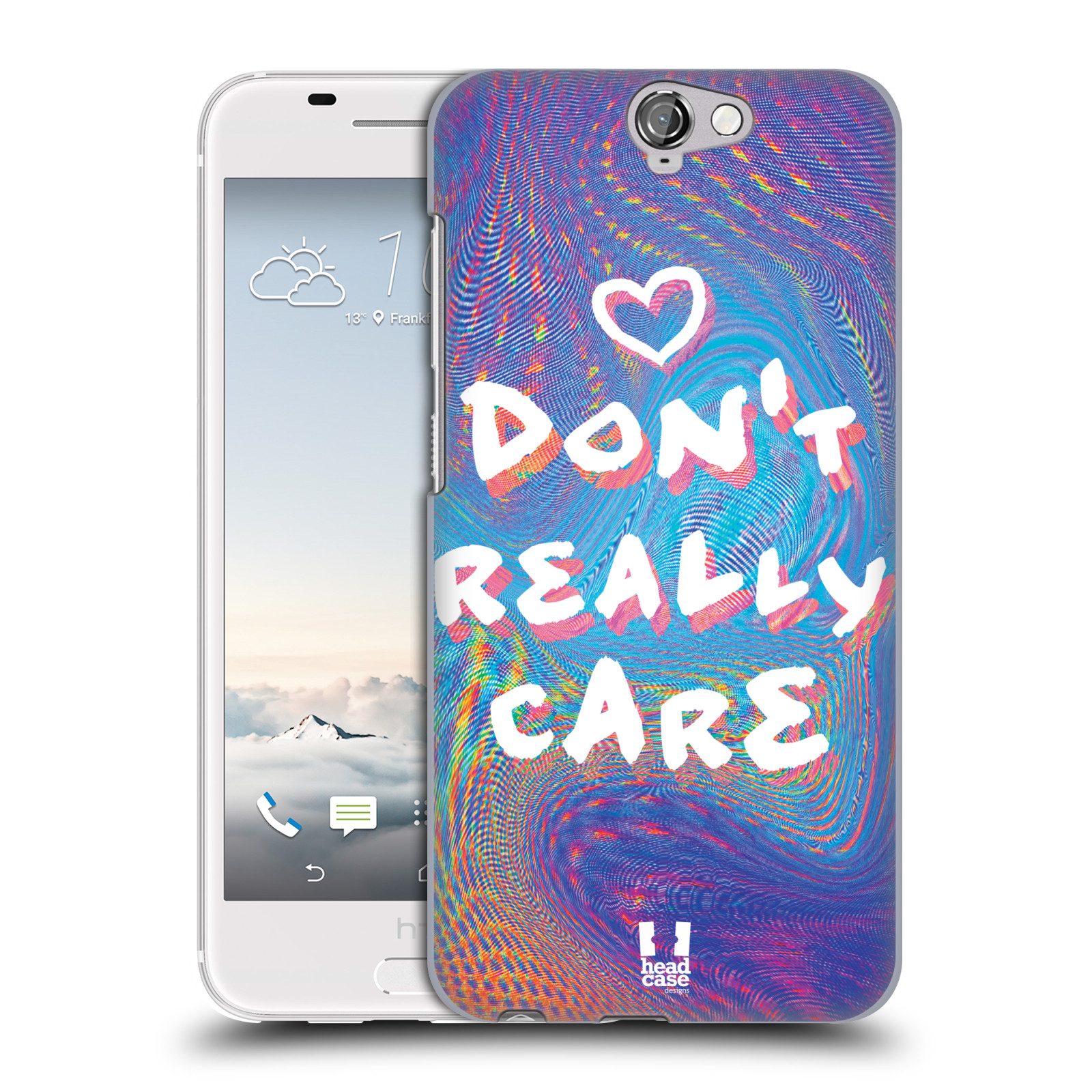 Plastové pouzdro na mobil HTC One A9 HEAD CASE HOLOGRAF DON'T CARE (Kryt či obal na mobilní telefon HTC One A9)
