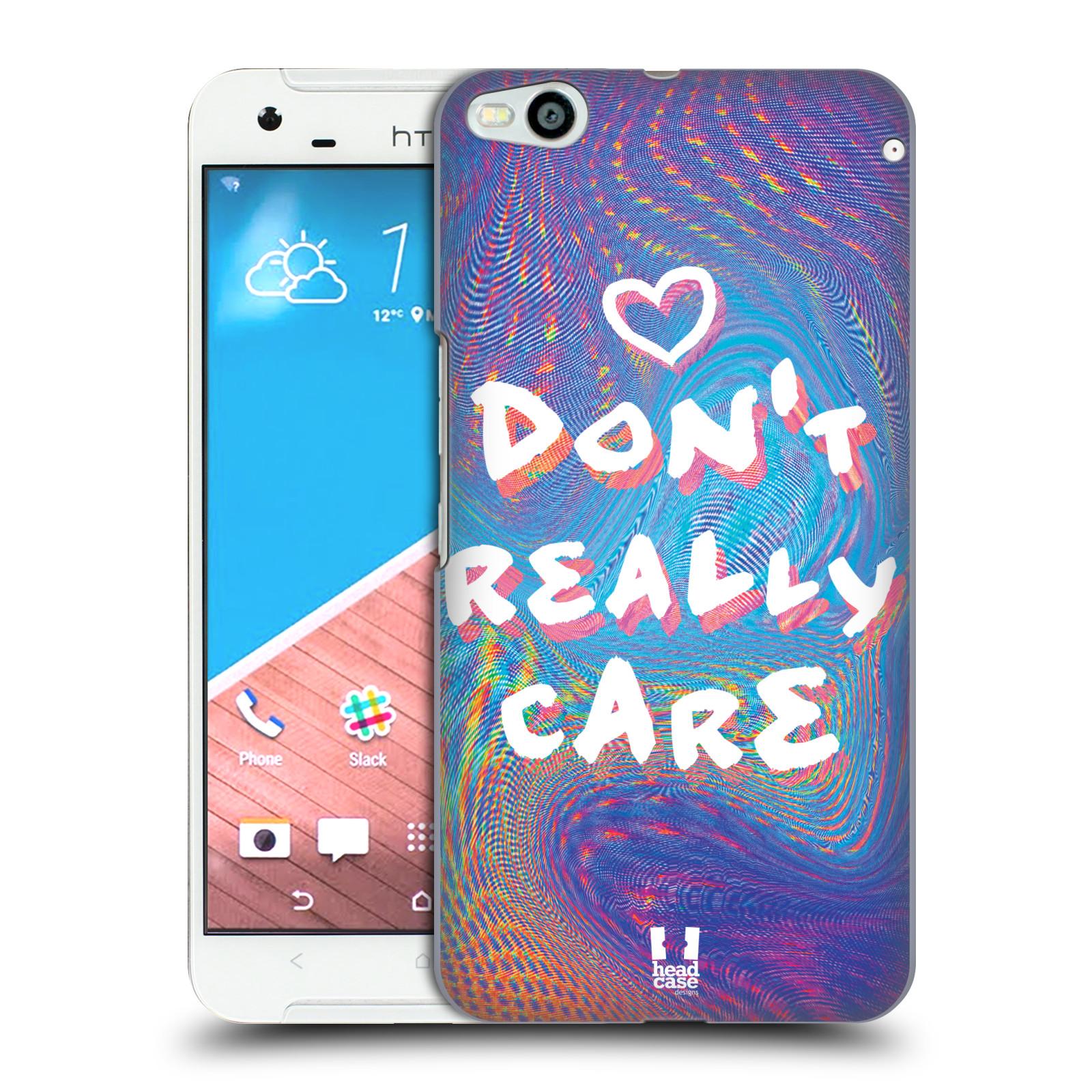 Plastové pouzdro na mobil HTC One X9 HEAD CASE HOLOGRAF DON'T CARE (Kryt či obal na mobilní telefon HTC One X9)