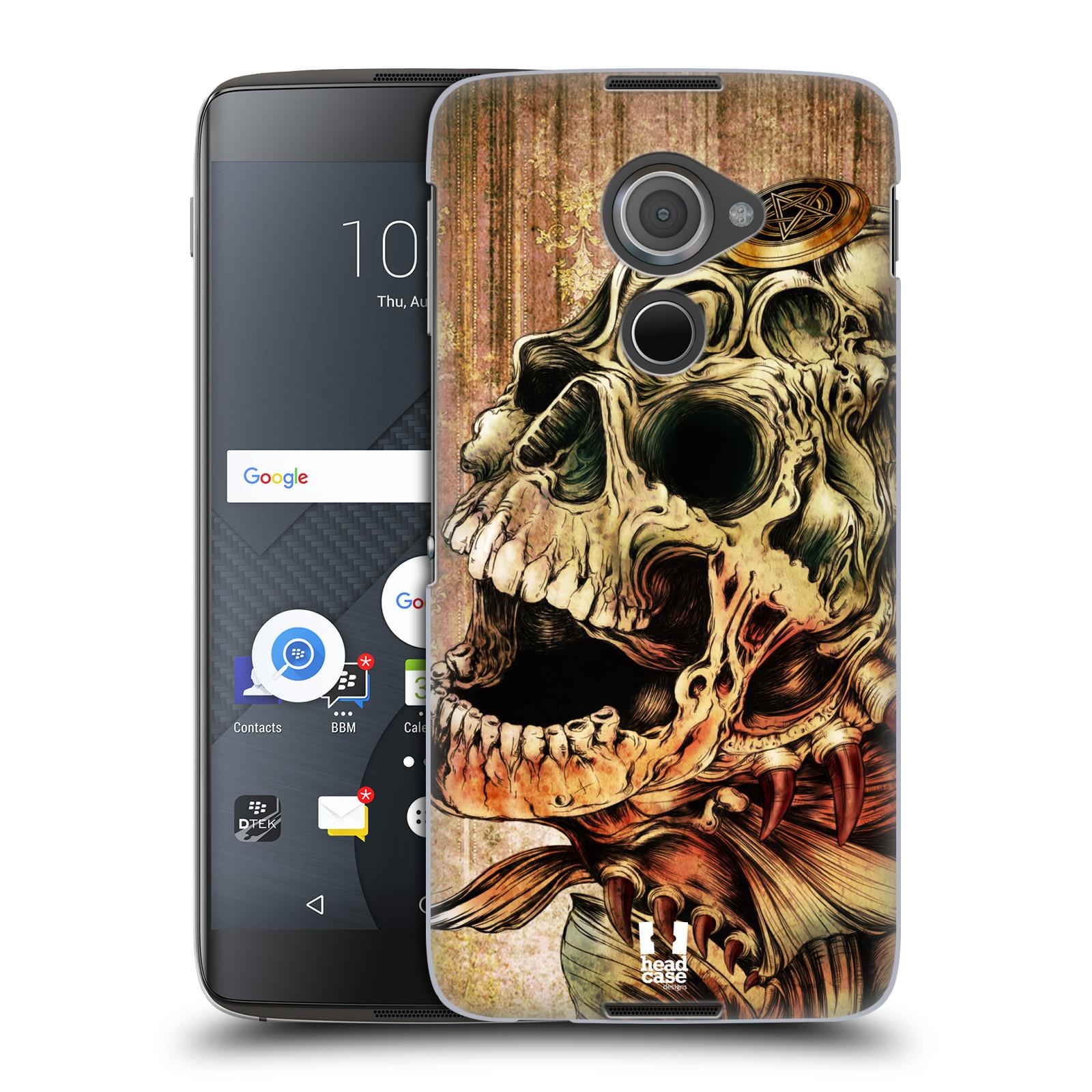 Plastové pouzdro na mobil Blackberry DTEK60 (Argon) - Head Case PIRANHA (Plastový kryt či obal na mobilní telefon Blackberry DTEK60 (Argon))