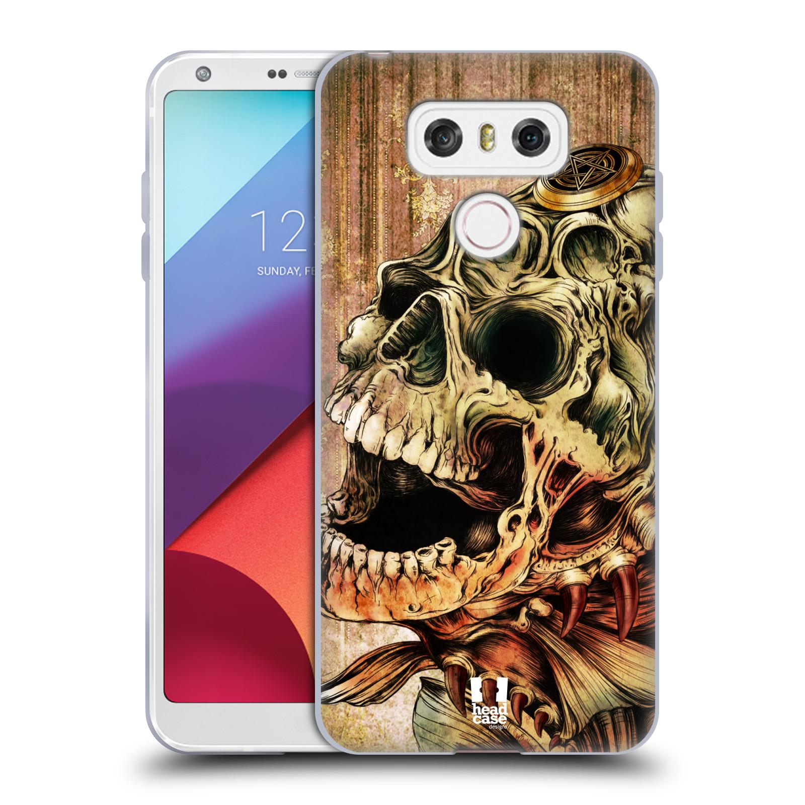 Silikonové pouzdro na mobil LG G6 - Head Case PIRANHA (Silikonový kryt či obal na mobilní telefon LG G6 H870 / LG G6 Dual SIM H870DS)