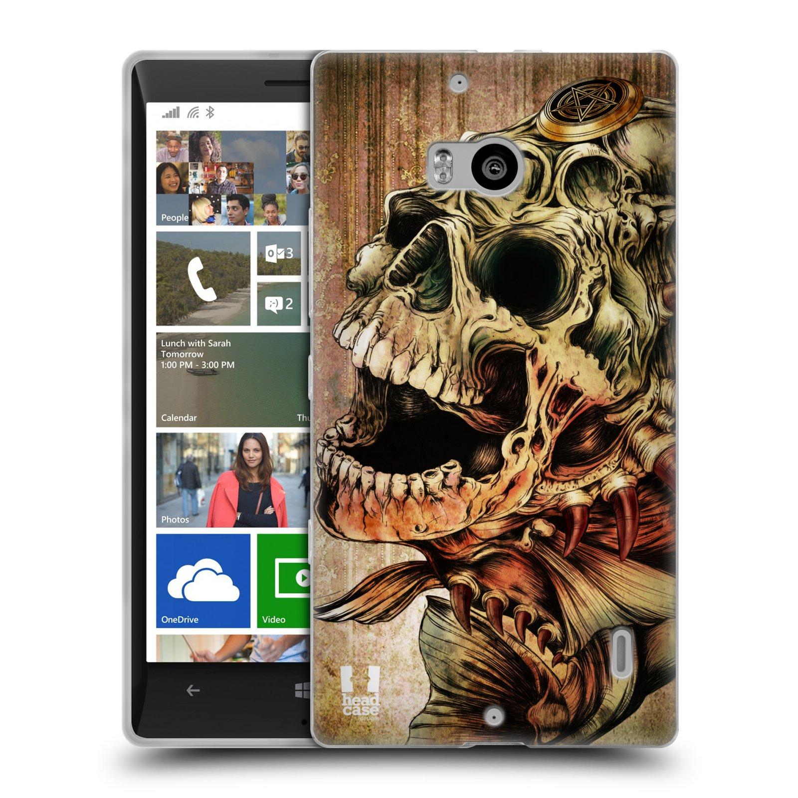 Silikonové pouzdro na mobil Nokia Lumia 930 HEAD CASE PIRANHA (Silikonový kryt či obal na mobilní telefon Nokia Lumia 930)