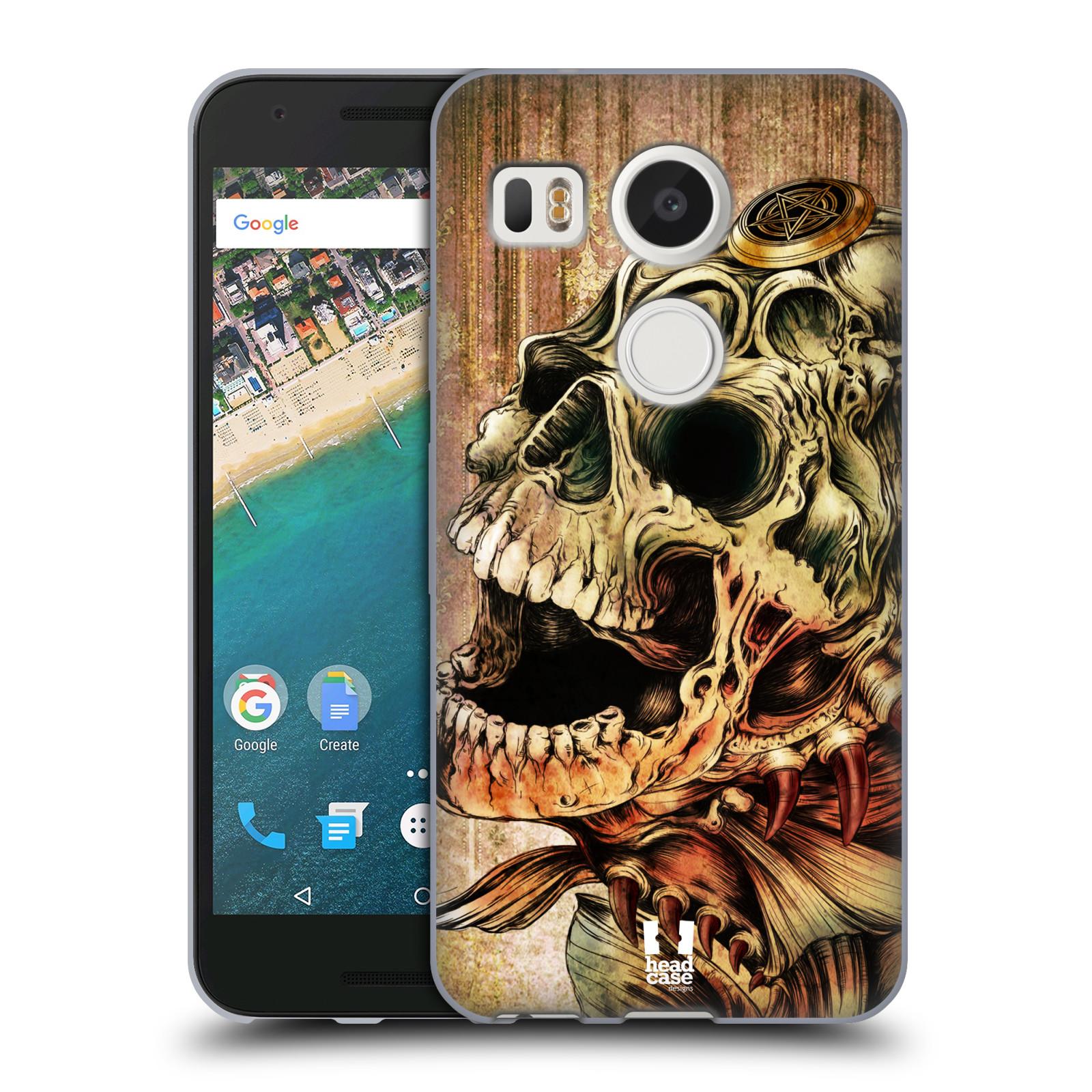 Silikonové pouzdro na mobil LG Nexus 5X - Head Case - PIRANHA (Silikonový kryt či obal na mobilní telefon LG Nexus 5X)
