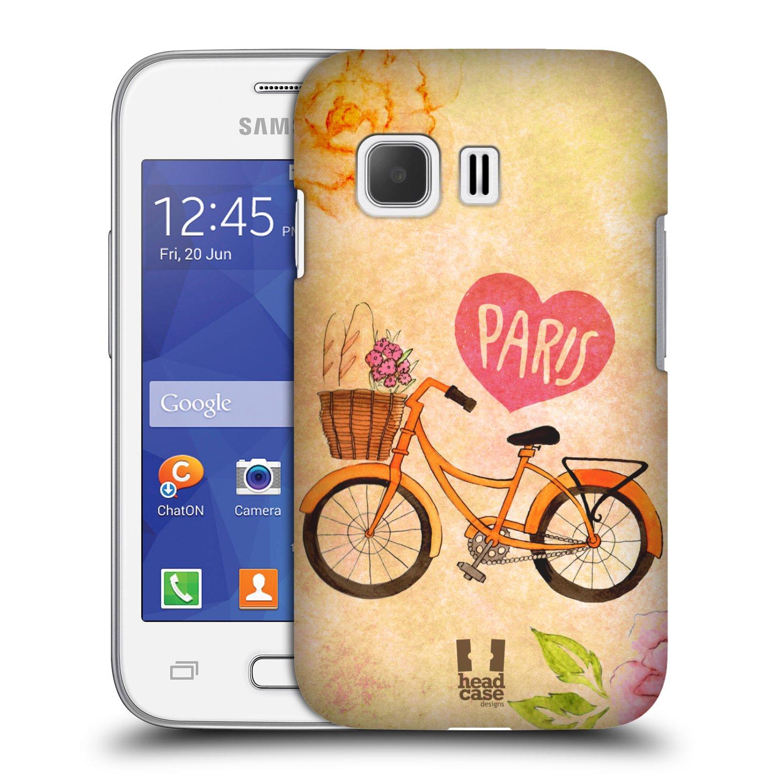 Plastové pouzdro na mobil Samsung Galaxy Young 2 HEAD CASE PAŘÍŽ NA KOLE (Kryt či obal na mobilní telefon Samsung Galaxy Young 2 SM-G130)