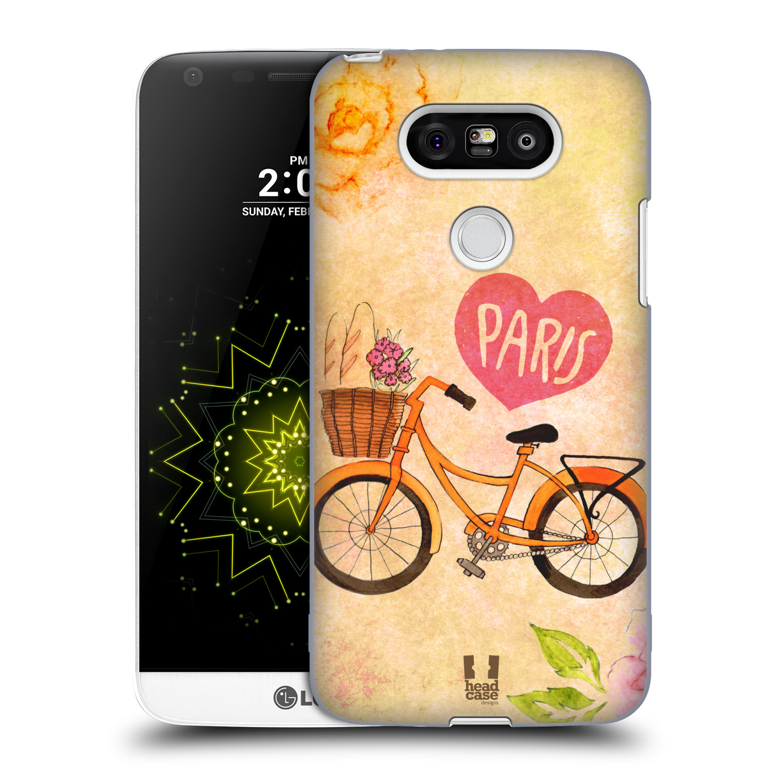 Plastové pouzdro na mobil LG G5 HEAD CASE PAŘÍŽ NA KOLE (Kryt či obal na mobilní telefon LG G5 H850)