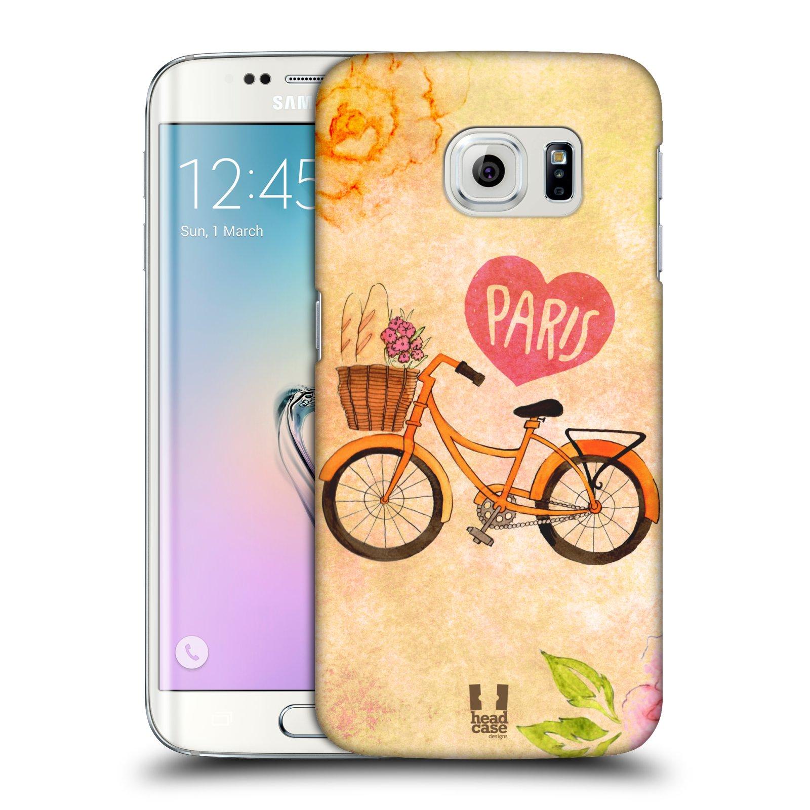Plastové pouzdro na mobil Samsung Galaxy S6 Edge HEAD CASE PAŘÍŽ NA KOLE (Kryt či obal na mobilní telefon Samsung Galaxy S6 Edge SM-G925F)