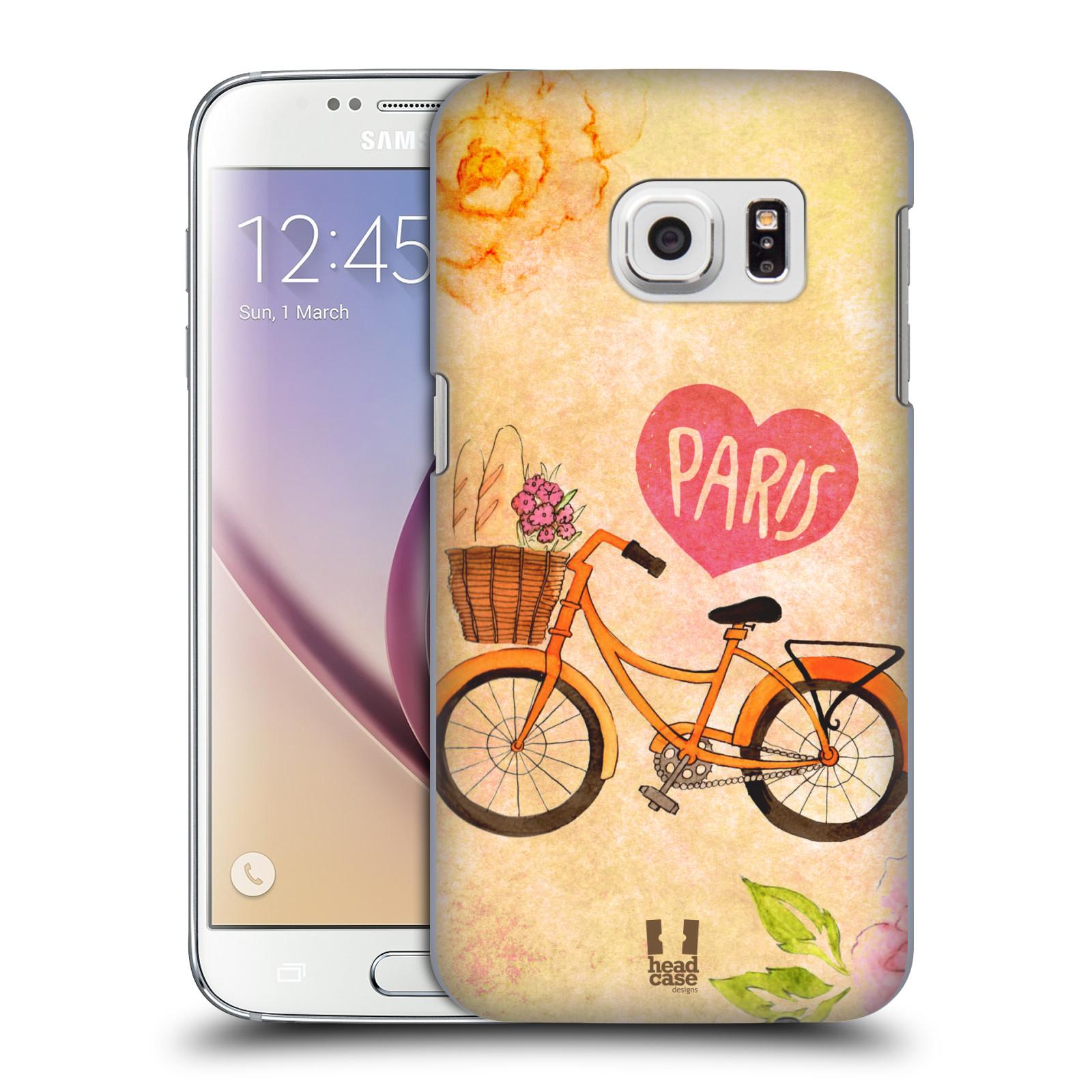 Plastové pouzdro na mobil Samsung Galaxy S7 HEAD CASE PAŘÍŽ NA KOLE (Kryt či obal na mobilní telefon Samsung Galaxy S7 SM-G930F)