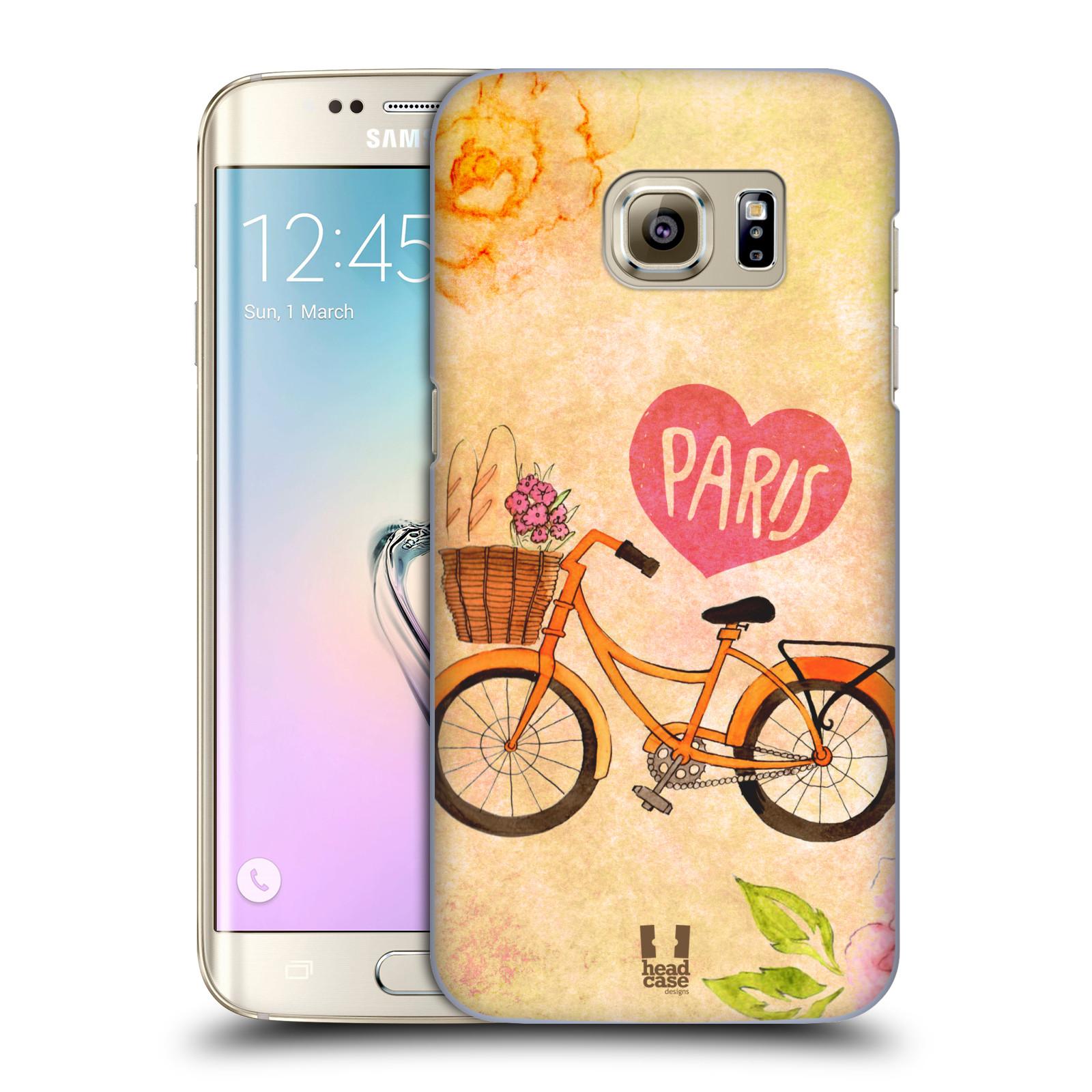 Plastové pouzdro na mobil Samsung Galaxy S7 Edge HEAD CASE PAŘÍŽ NA KOLE (Kryt či obal na mobilní telefon Samsung Galaxy S7 Edge SM-G935F)