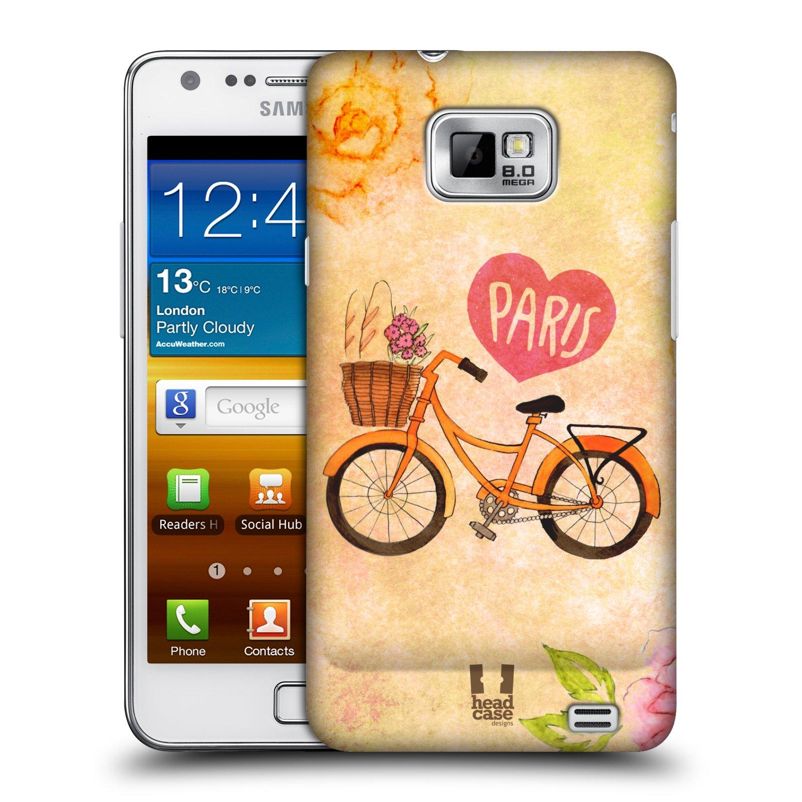 Plastové pouzdro na mobil Samsung Galaxy S II HEAD CASE PAŘÍŽ NA KOLE (Kryt či obal na mobilní telefon Samsung Galaxy S II GT-i9100)