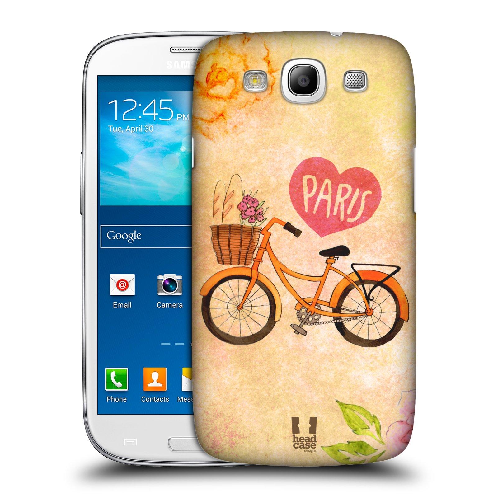Plastové pouzdro na mobil Samsung Galaxy S3 Neo HEAD CASE PAŘÍŽ NA KOLE (Kryt či obal na mobilní telefon Samsung Galaxy S3 Neo GT-i9301i)