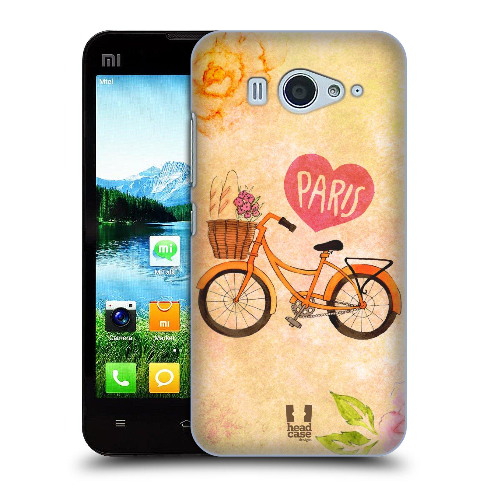 Plastové pouzdro na mobil Xiaomi Mi2S HEAD CASE PAŘÍŽ NA KOLE (Kryt či obal na mobilní telefon Xiaomi Mi2S)