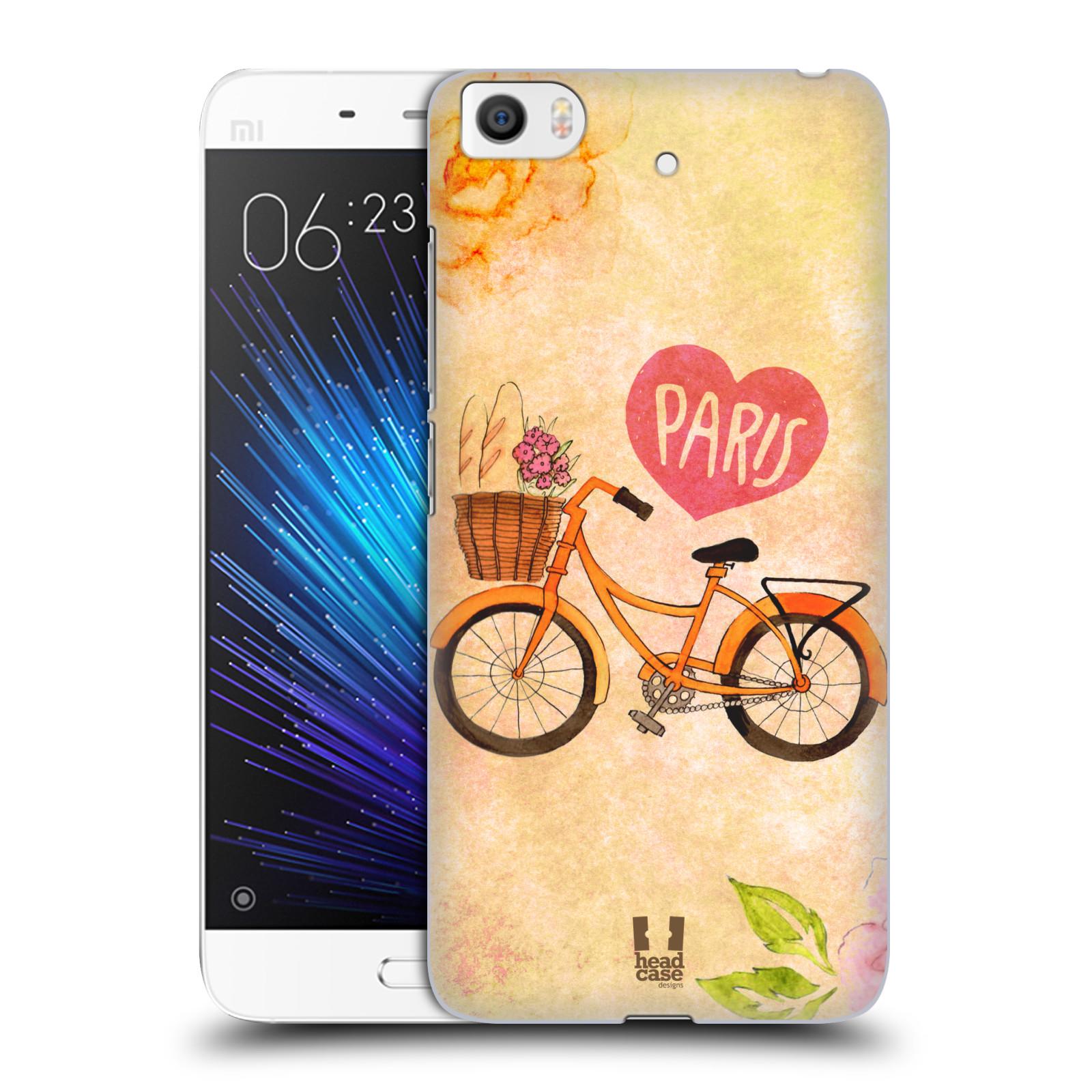 Plastové pouzdro na mobil Xiaomi Mi5s - Head Case PAŘÍŽ NA KOLE (Plastový kryt či obal na mobilní telefon Xiaomi Mi5s)