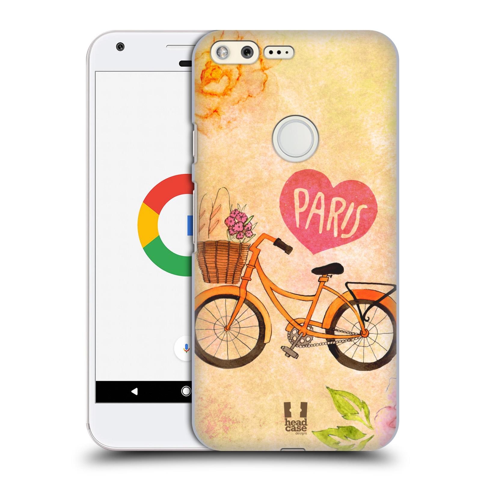 Plastové pouzdro na mobil Google Pixel HEAD CASE PAŘÍŽ NA KOLE (Plastový kryt či obal na mobilní telefon Google Pixel)