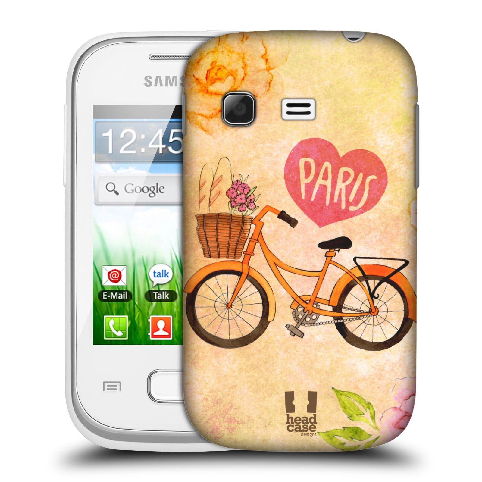 Plastové pouzdro na mobil Samsung Galaxy Pocket HEAD CASE PAŘÍŽ NA KOLE (Kryt či obal na mobilní telefon Samsung Galaxy Pocket GT-S5300)
