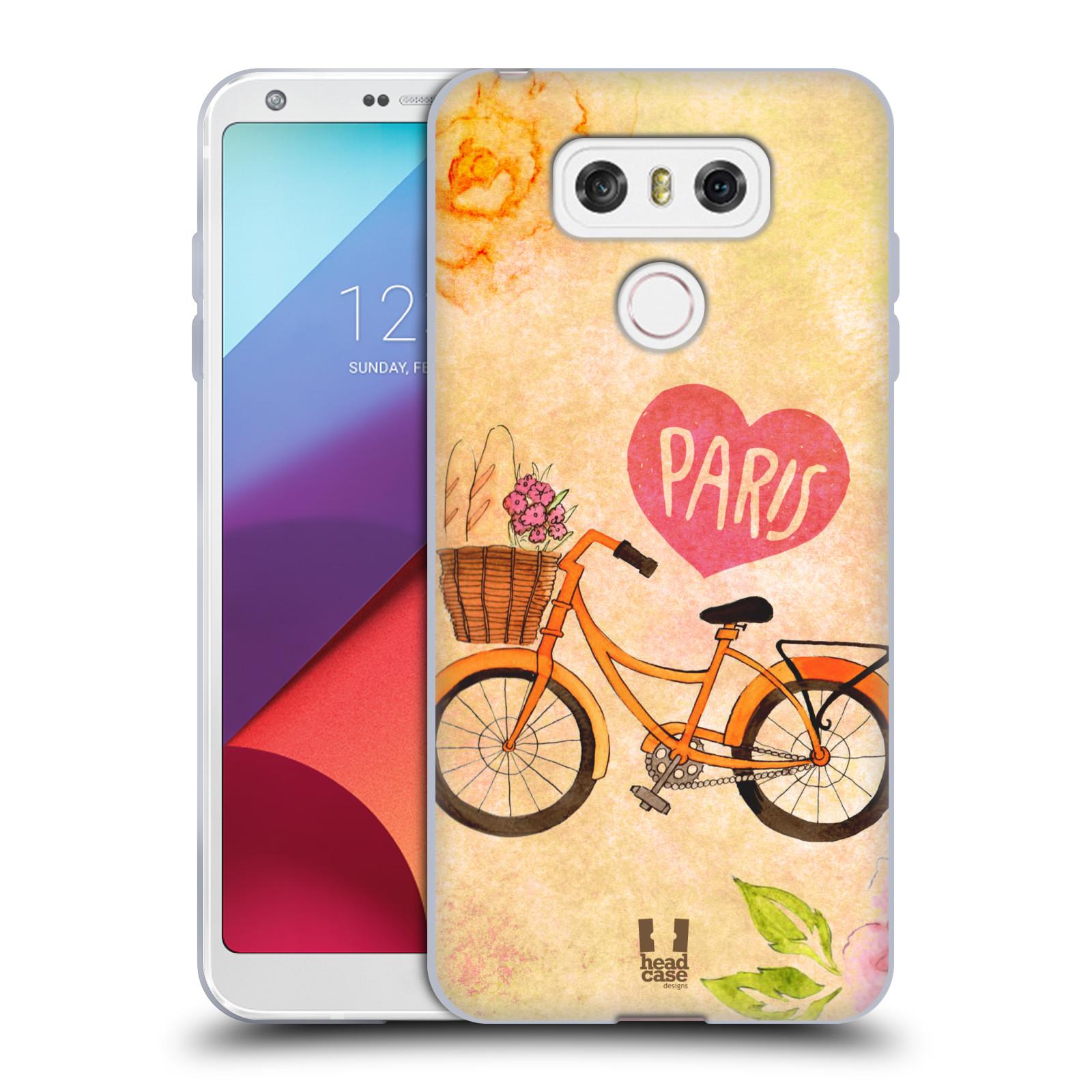 Silikonové pouzdro na mobil LG G6 - Head Case PAŘÍŽ NA KOLE (Silikonový kryt či obal na mobilní telefon LG G6 H870 / LG G6 Dual SIM H870DS)