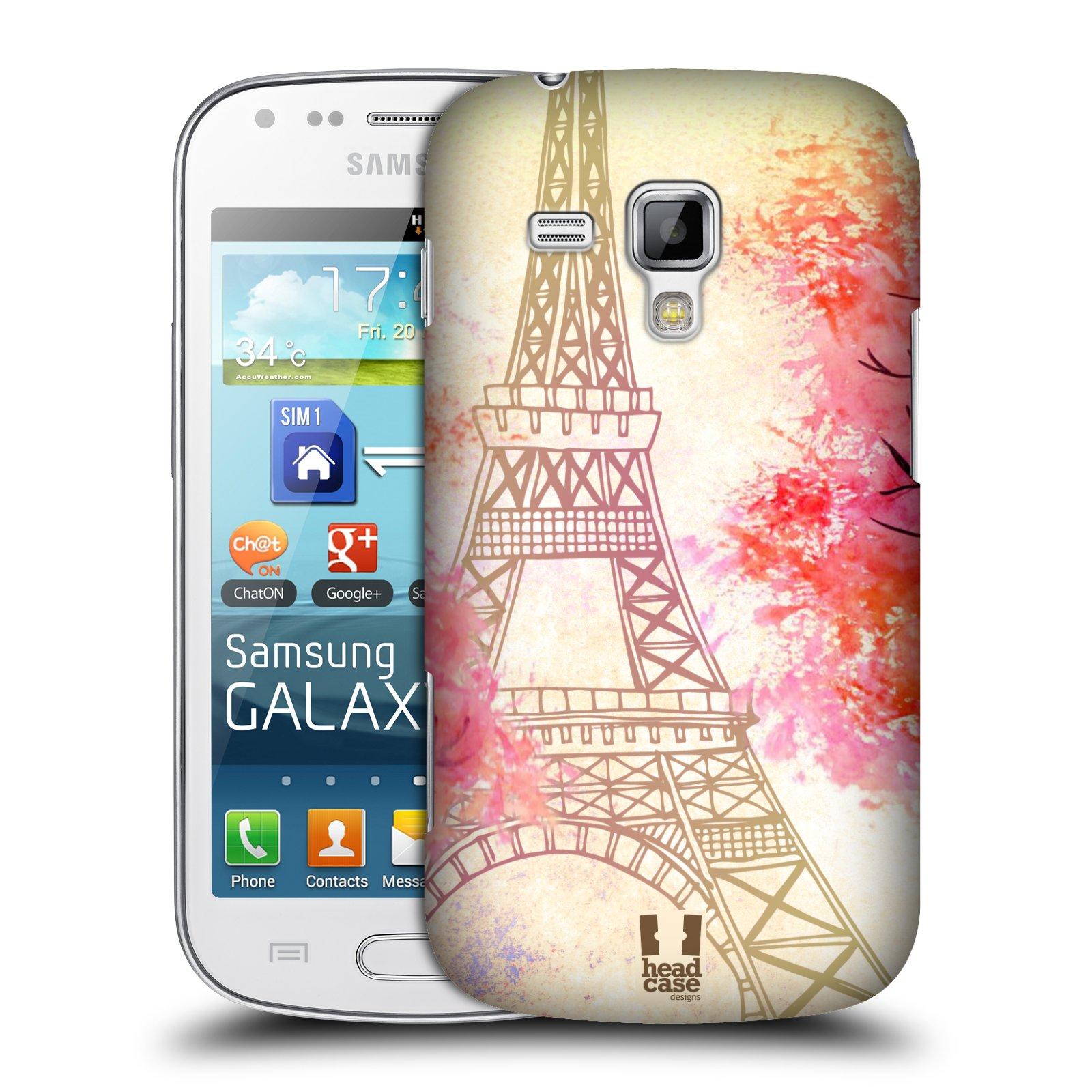 Plastové pouzdro na mobil Samsung Galaxy S Duos HEAD CASE PAŘÍŽ TREES e6db82c1b38