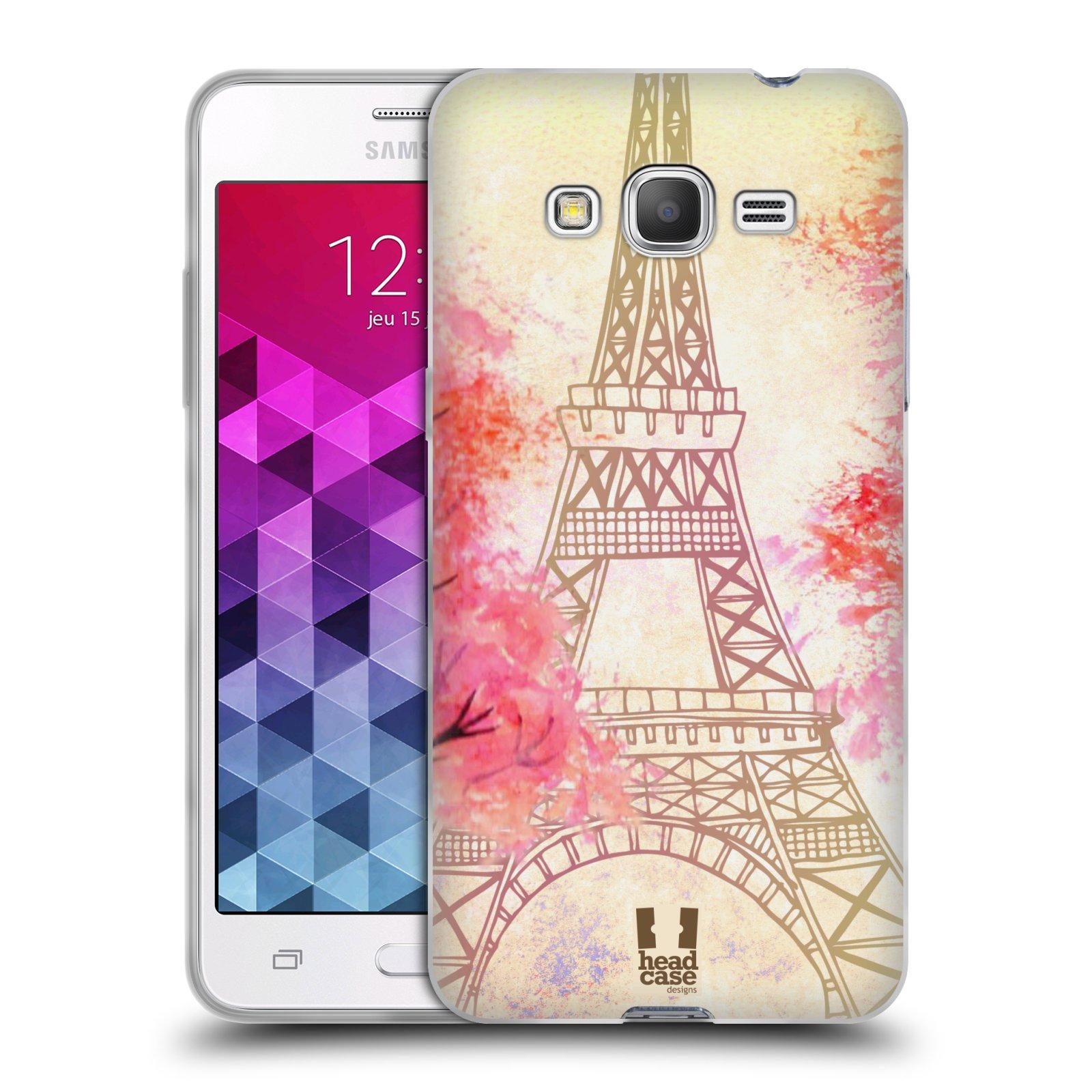 Silikonové pouzdro na mobil Samsung Galaxy Grand Prime HEAD CASE PAŘÍŽ TREES