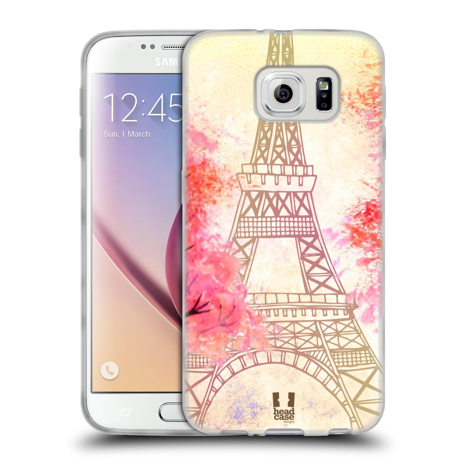 Silikonové pouzdro na mobil Samsung Galaxy S6 HEAD CASE PAŘÍŽ TREES ... a8b5388805b
