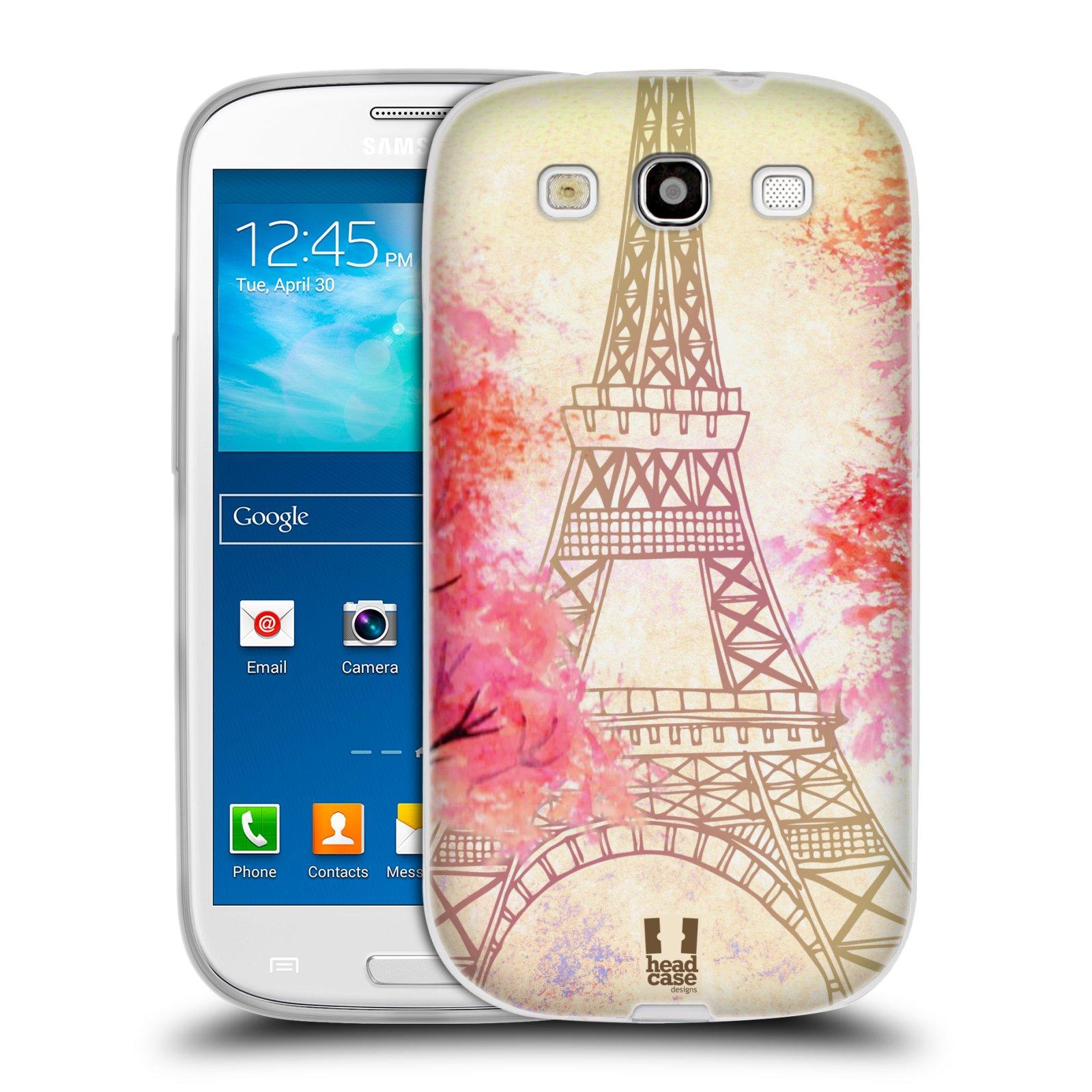 Silikonové pouzdro na mobil Samsung Galaxy S3 Neo HEAD CASE PAŘÍŽ TREES 979da7d12dc