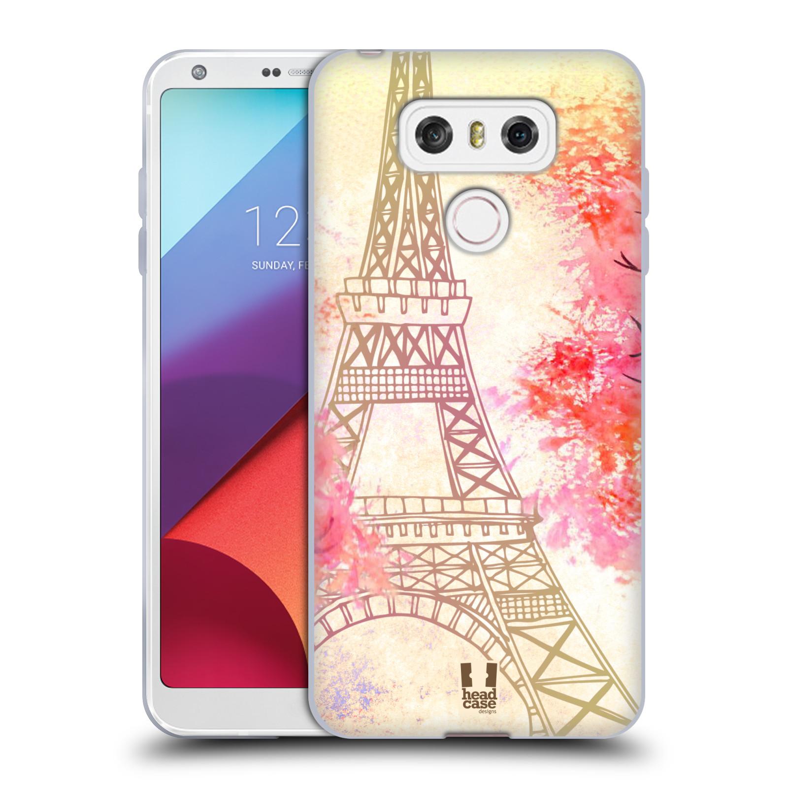 Silikonové pouzdro na mobil LG G6 - Head Case PAŘÍŽ TREES (Silikonový kryt či obal na mobilní telefon LG G6 H870 / LG G6 Dual SIM H870DS)