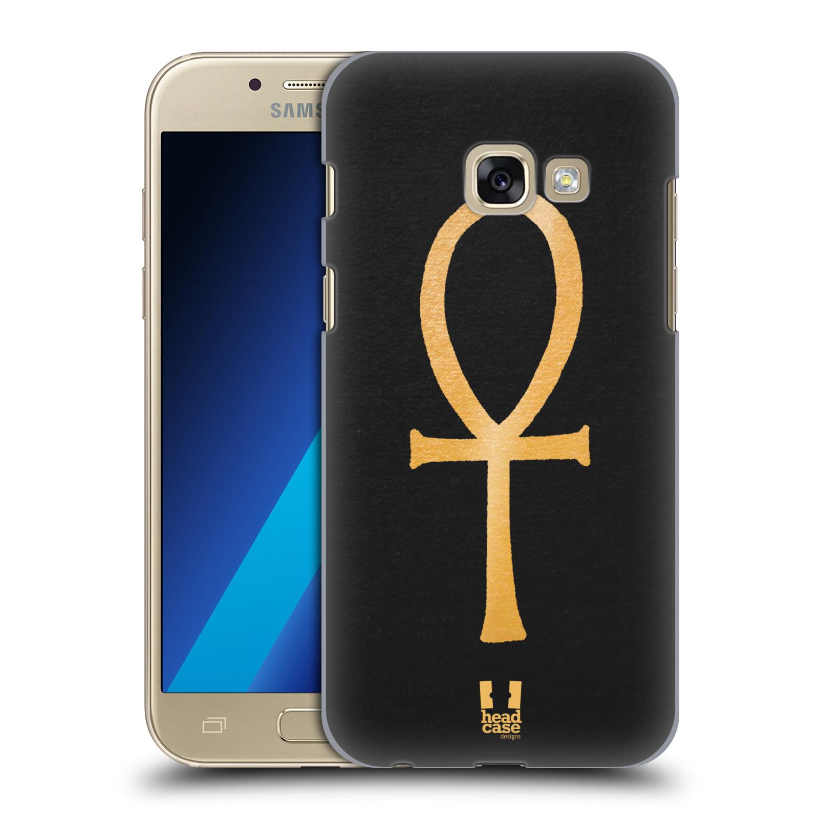 Plastové pouzdro na mobil Samsung Galaxy A3 (2017) HEAD CASE EGYPT ANKH NILSKÝ KŘÍŽ